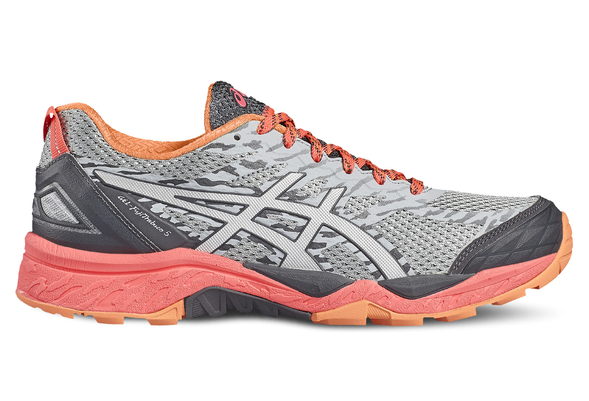 chaussures de trail femme asics gel fujitrabuco 5 multi couleur. Black Bedroom Furniture Sets. Home Design Ideas