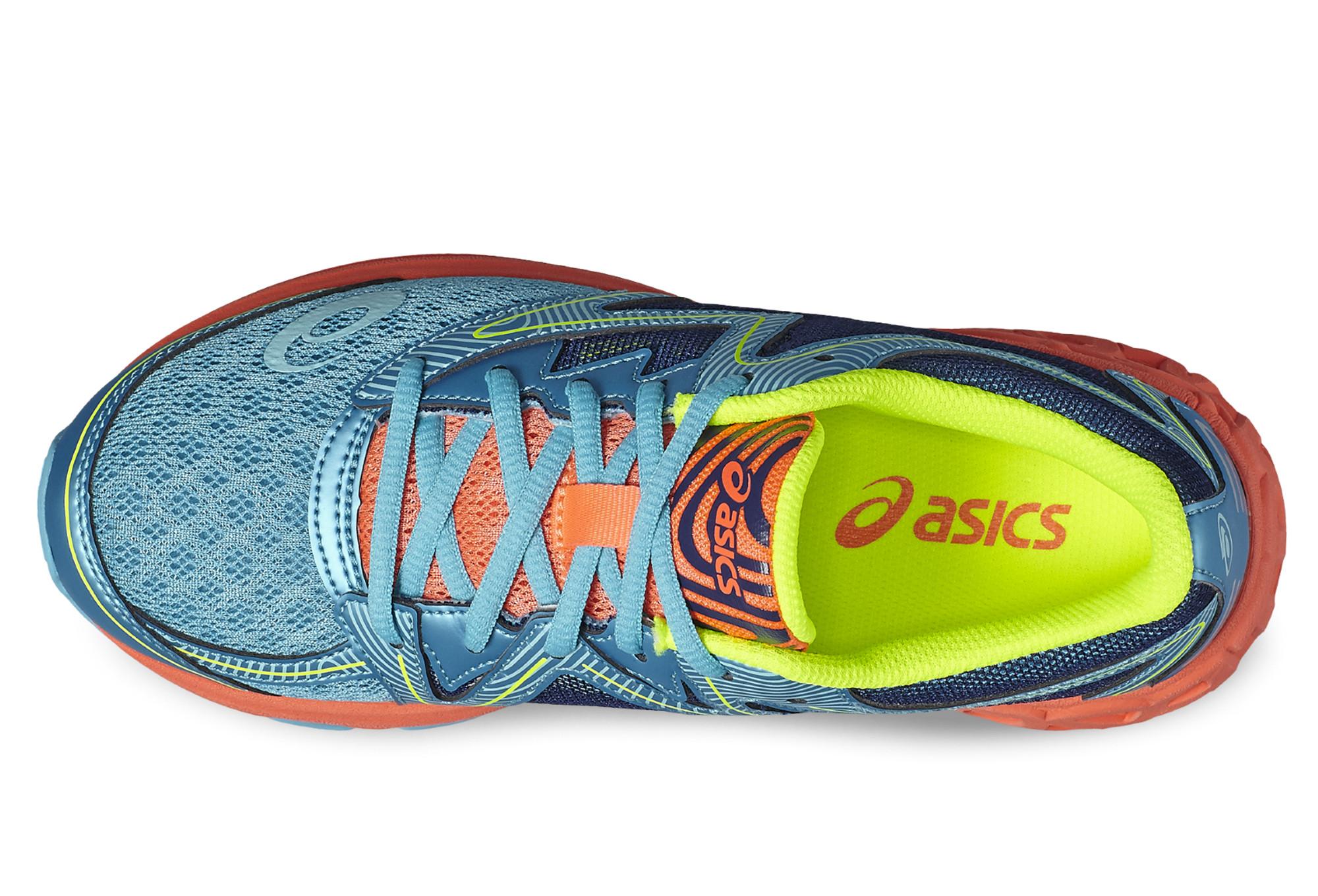 Asics Noosa GS Azul Naranja Amarillo