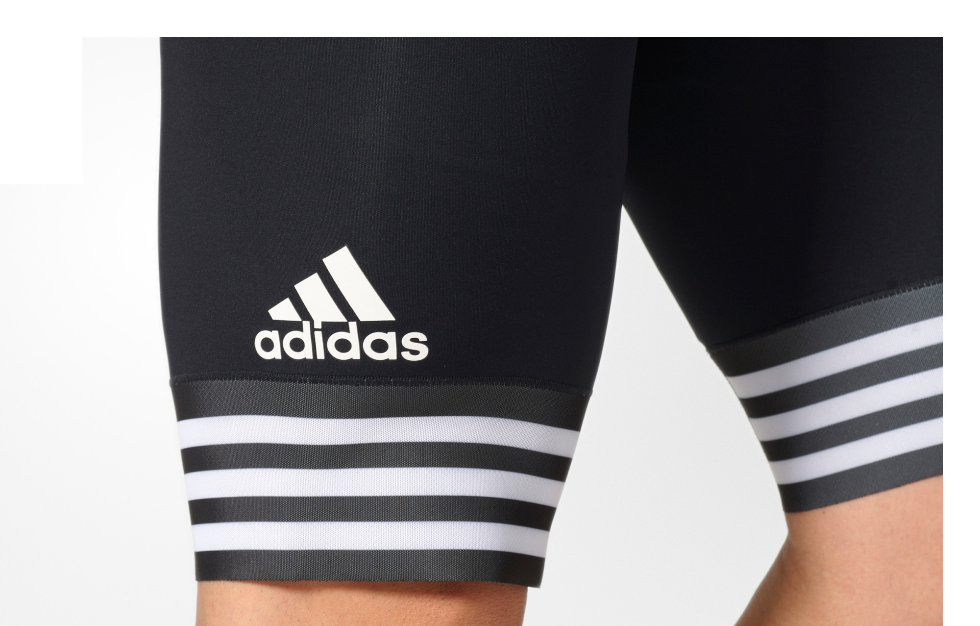 official photos better discount shop adidas cycling Bib Short ADISTAR Black White