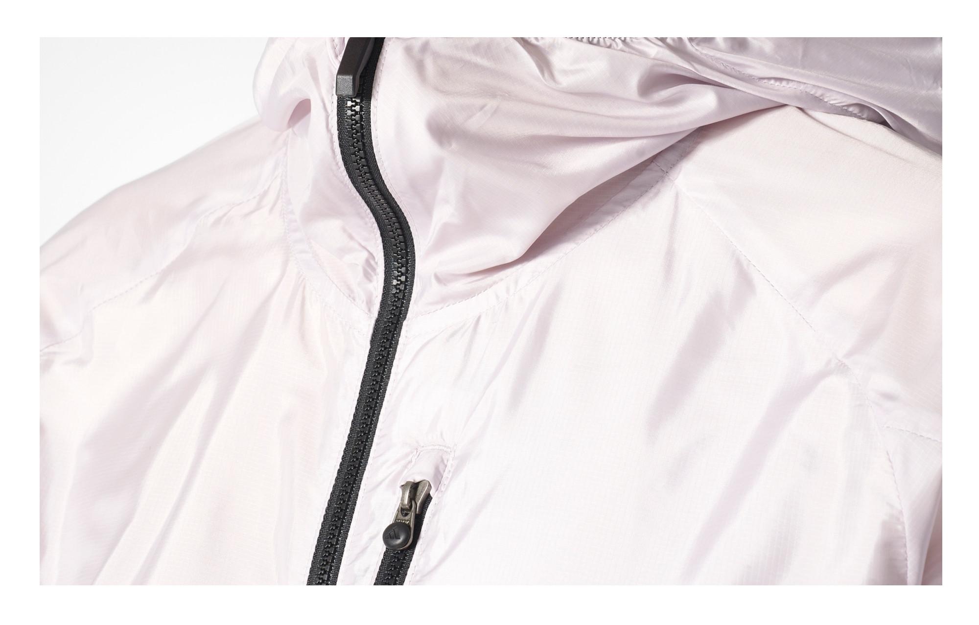 Veste Coupe Vent Imperméable Femme adidas running Terrex Agravic Blanc Violet