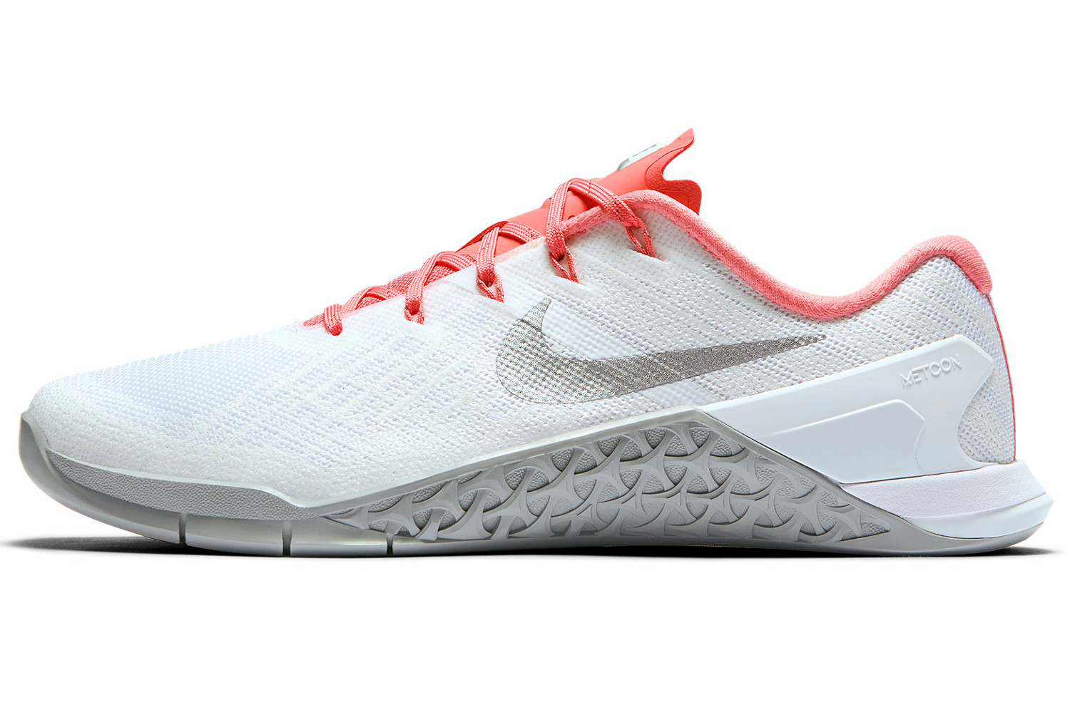chaussures de cross training femme nike metcon 3 blanc rose. Black Bedroom Furniture Sets. Home Design Ideas