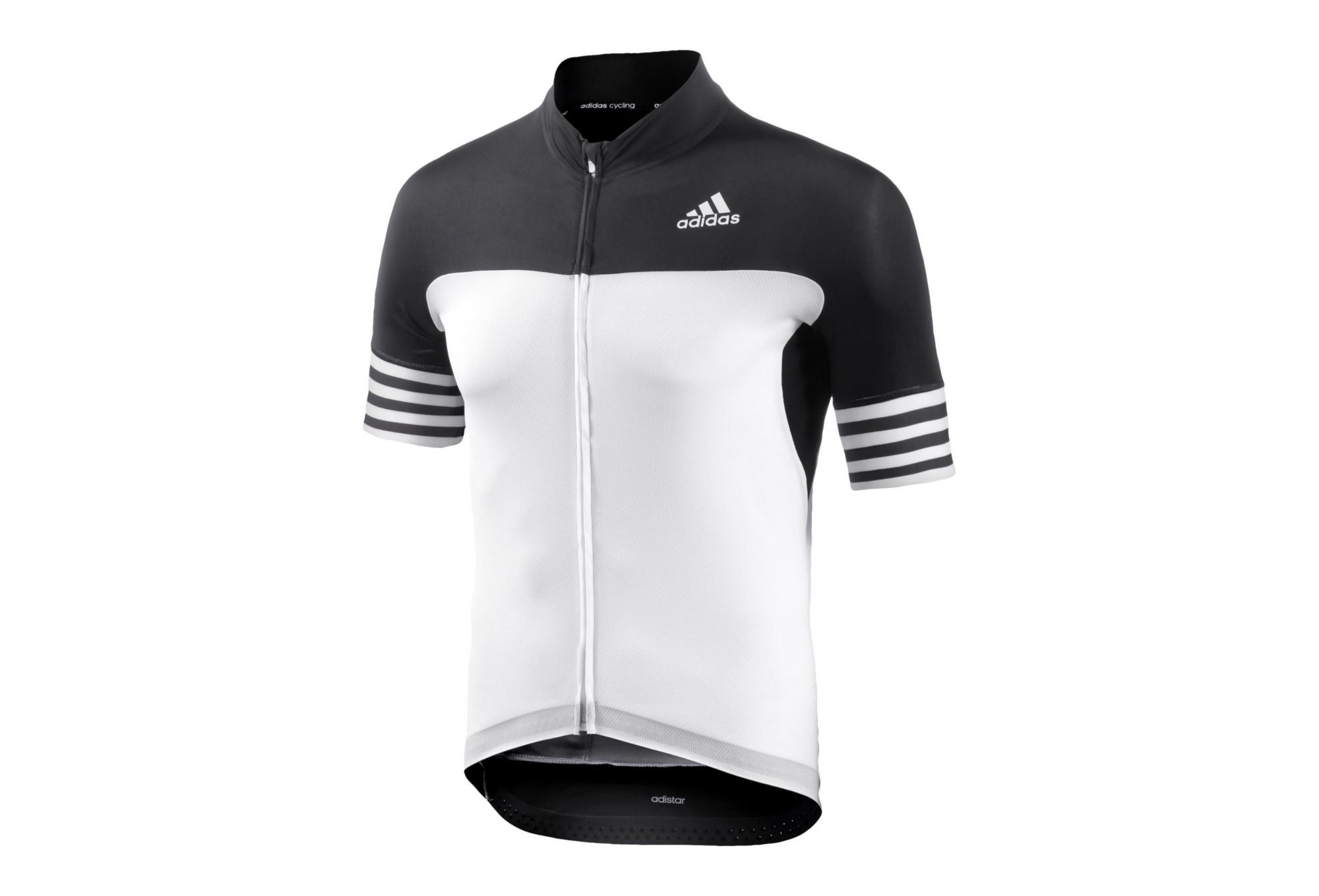 ADIDAS ADISTAR CD.ZERO3 Short Sleeves Jersey White Black  0dc240733