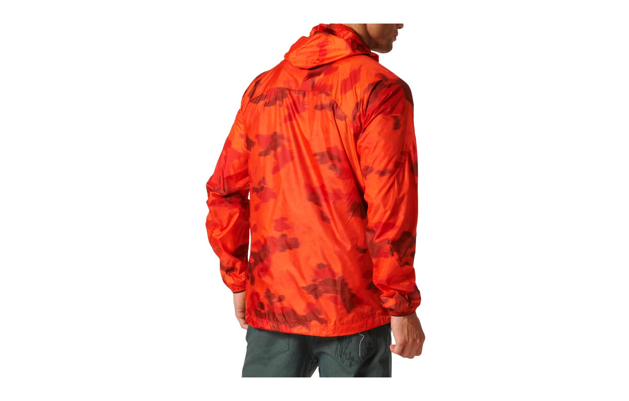 Adidas Running Waterproof Jacket Terrex Agravic Orange