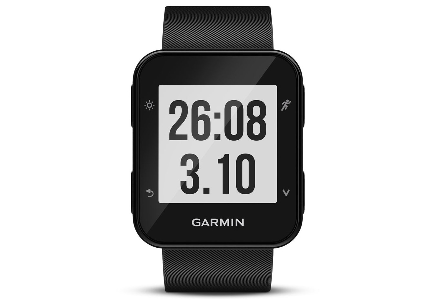 gps uhr garmin forerunner 35 hr schwarz. Black Bedroom Furniture Sets. Home Design Ideas