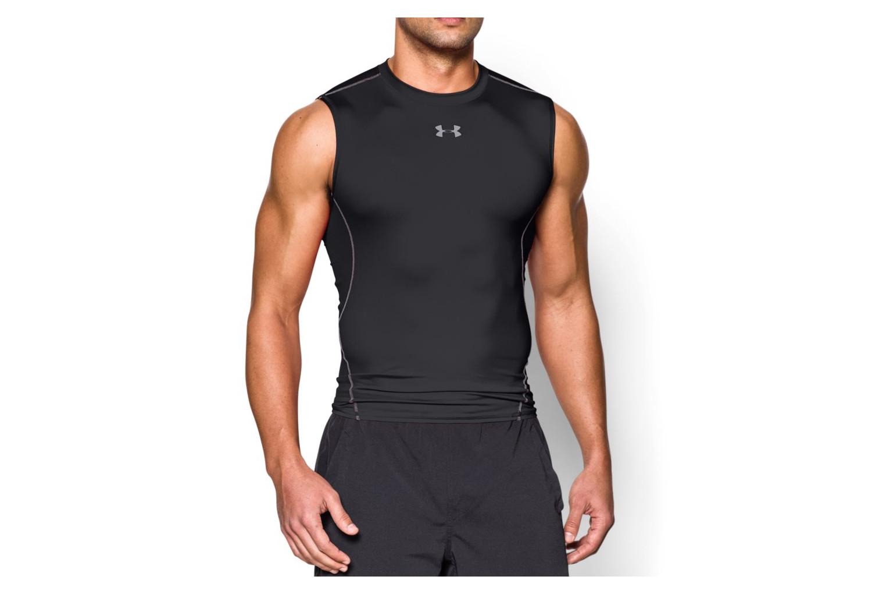 Posible dueña Laos  Camiseta de compresión sin mangas UNDER ARMOUR HEATGEAR ARMOUR Negro |  Alltricks.es