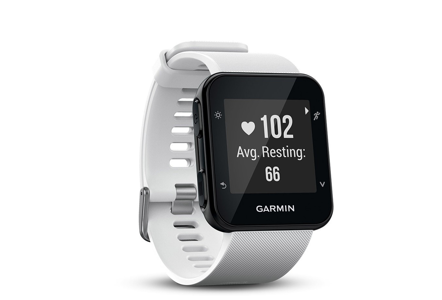 montre gps garmin forerunner 35 hr blanc. Black Bedroom Furniture Sets. Home Design Ideas