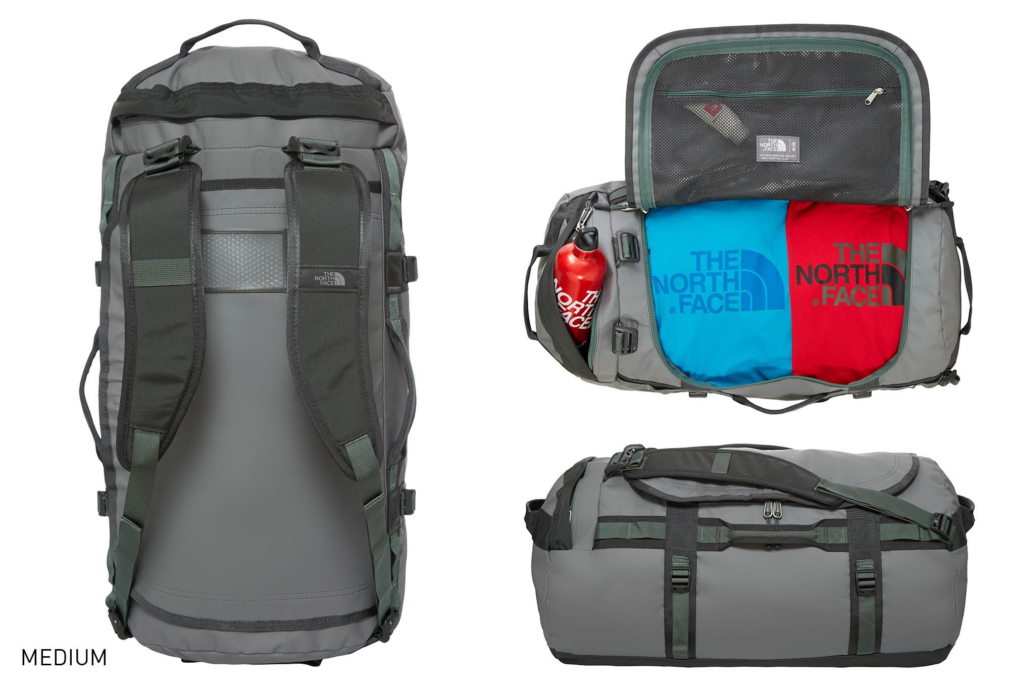 the north face sport bag duffel base camp grey. Black Bedroom Furniture Sets. Home Design Ideas