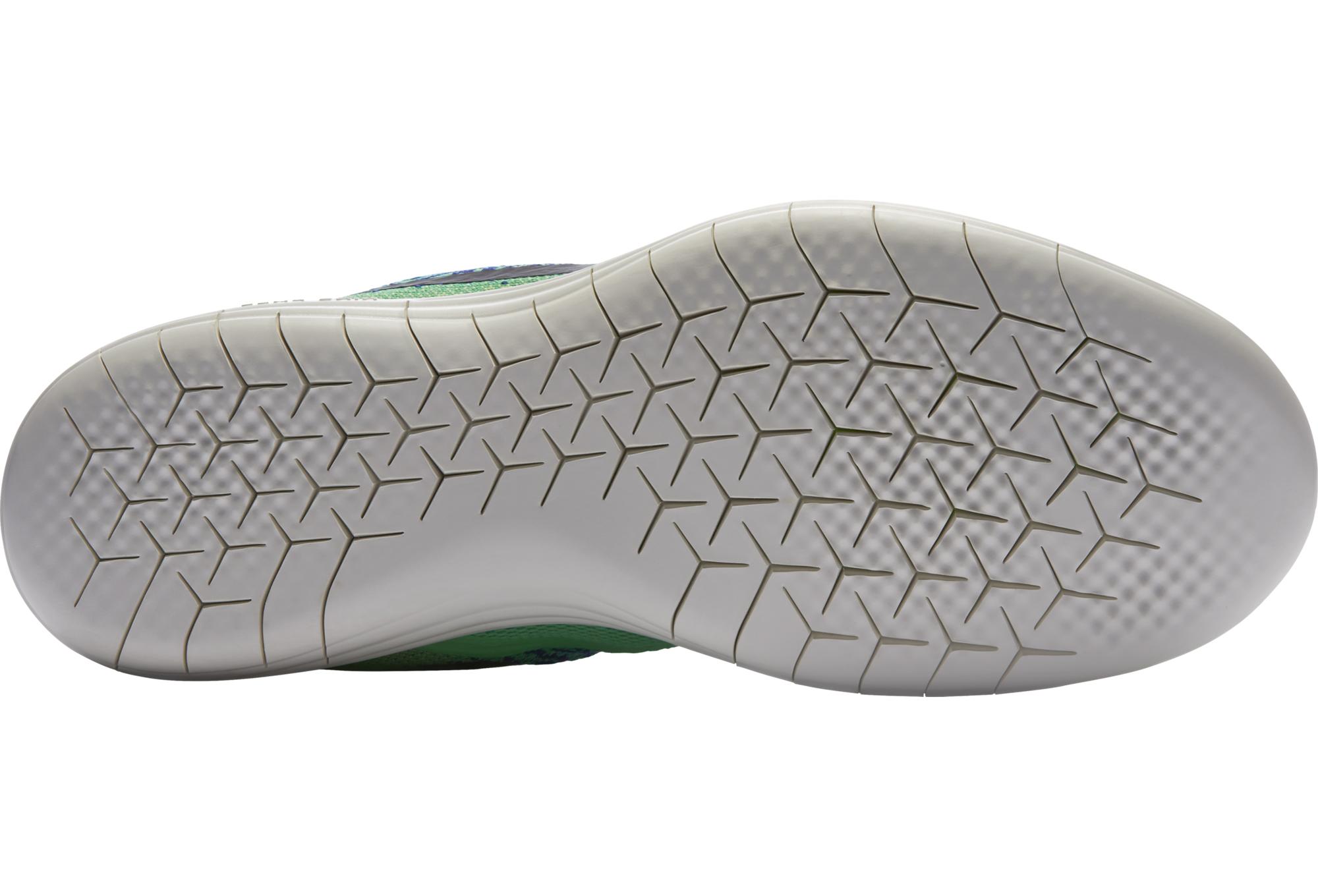meet 3081a 48c86 Chaussures de Running Nike FREE RUN DISTANCE 2 Bleu   Vert