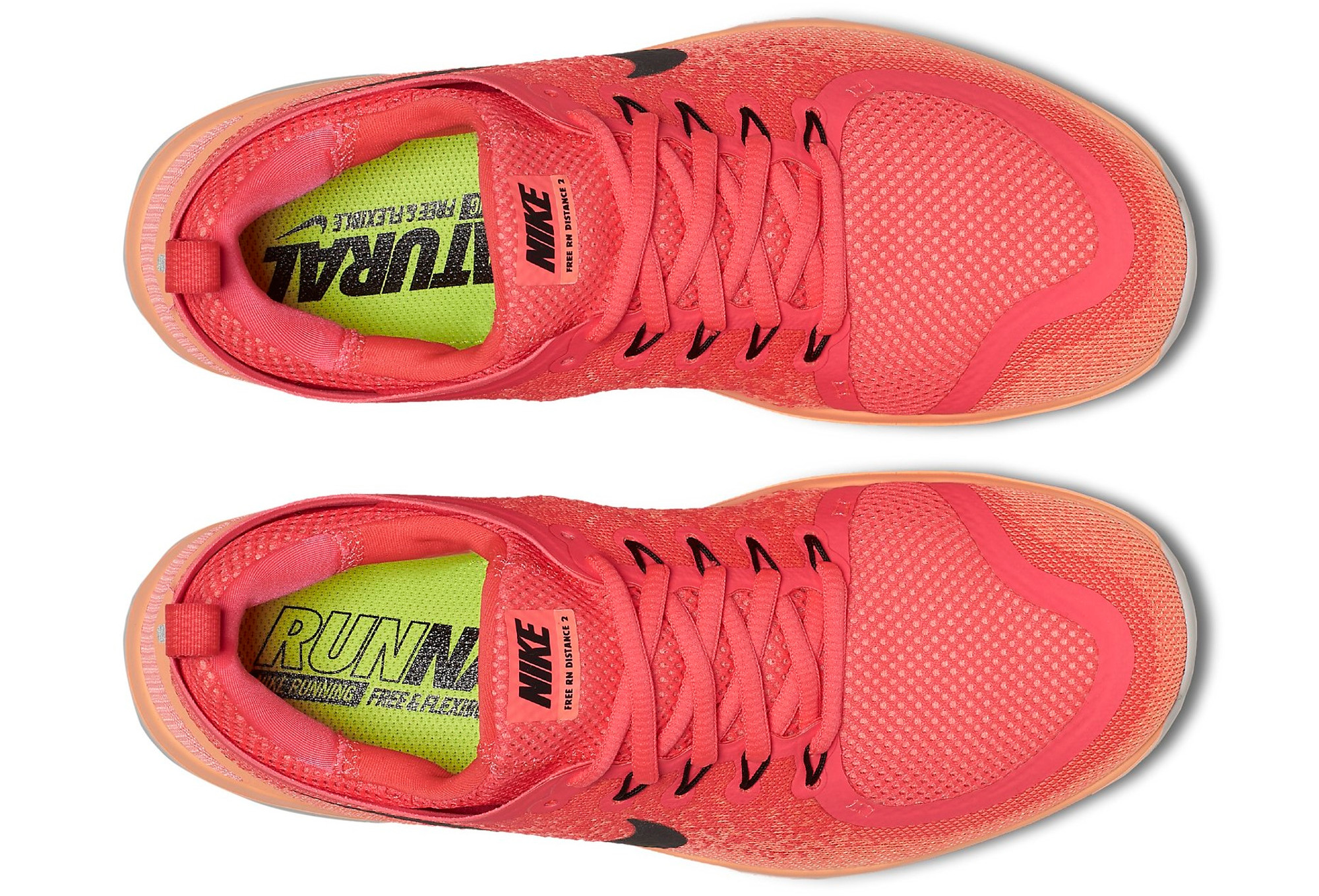 0dd36fd9bc70a NIKE FREE RUN DISTANCE 2 Women s Shoes Pink Orange