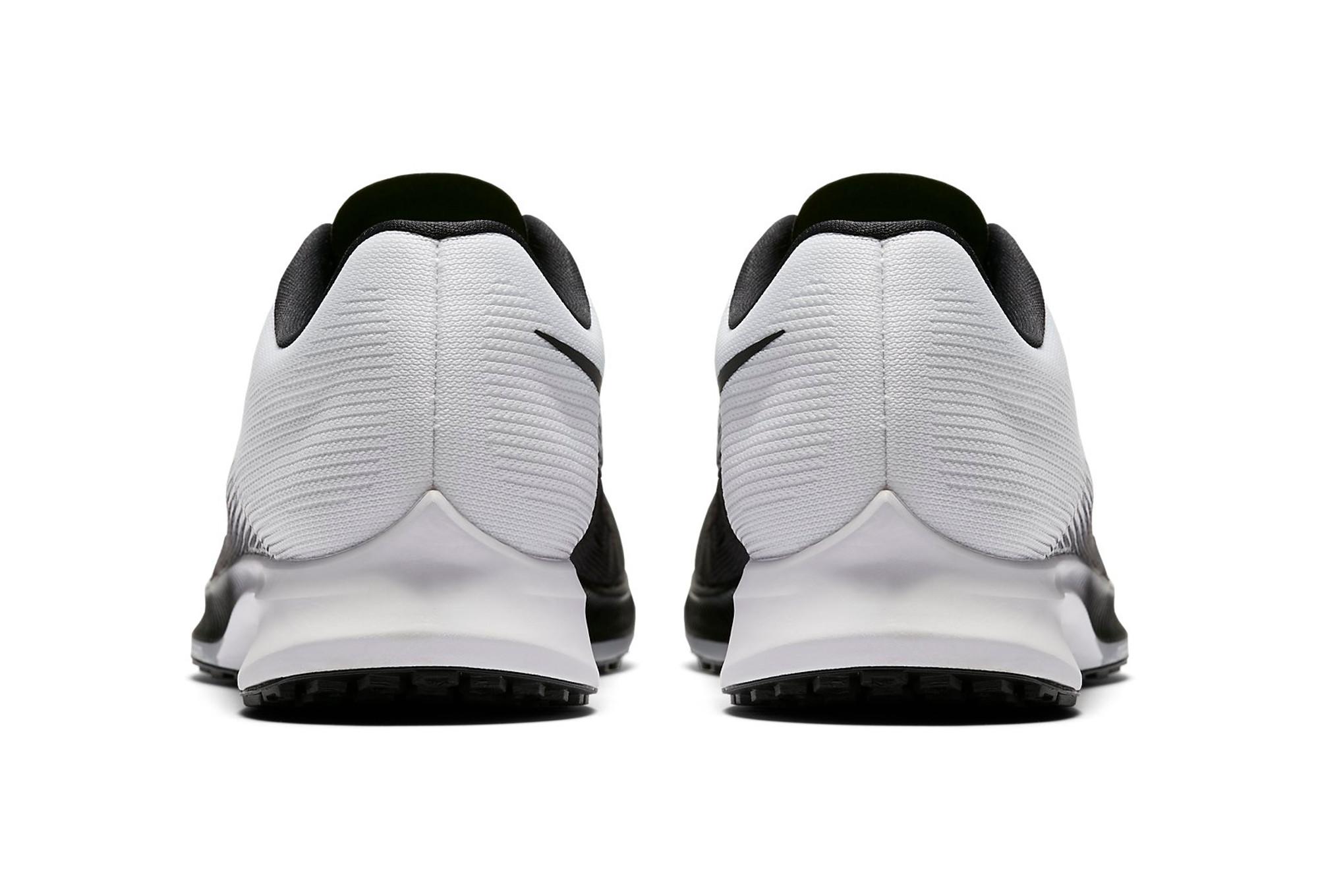 39f45ce48ba3 Chaussures de Triathlon Nike AIR ZOOM ELITE 9 Noir   Blanc ...