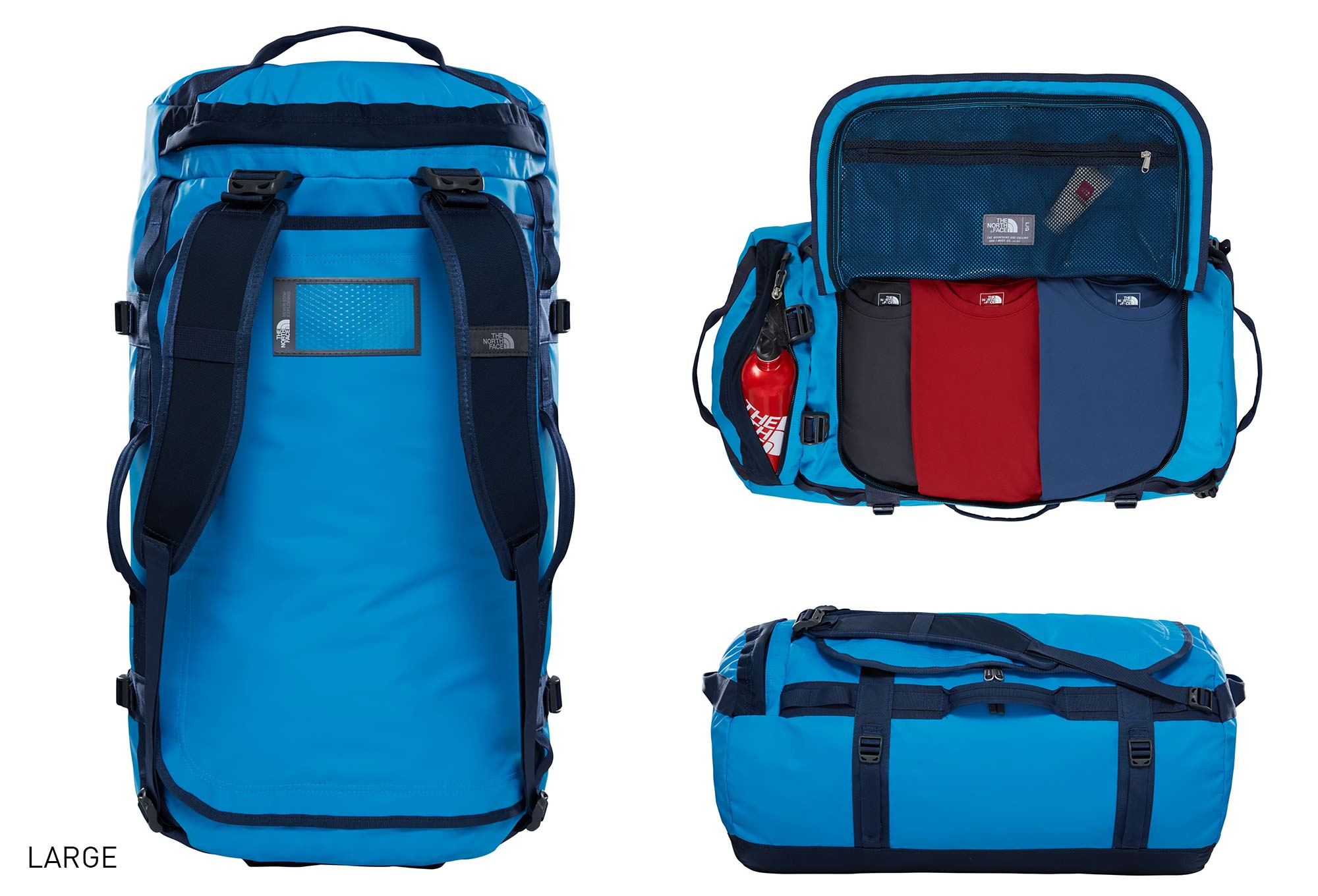 sac de sport the north face duffel base camp bleu. Black Bedroom Furniture Sets. Home Design Ideas