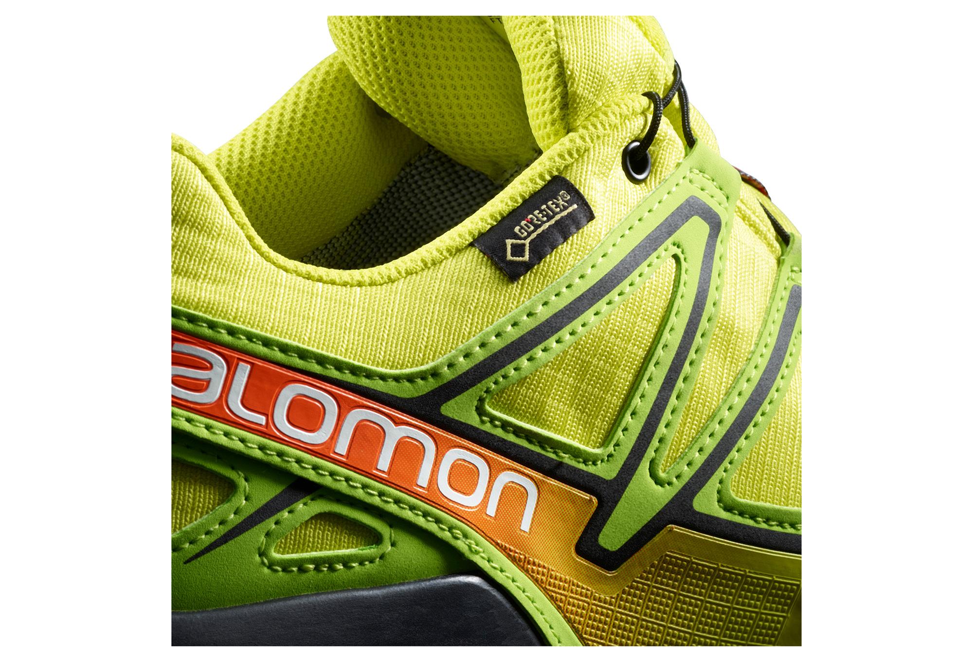 SALOMON SPEEDCROSS 4 GTX Jaune Orange