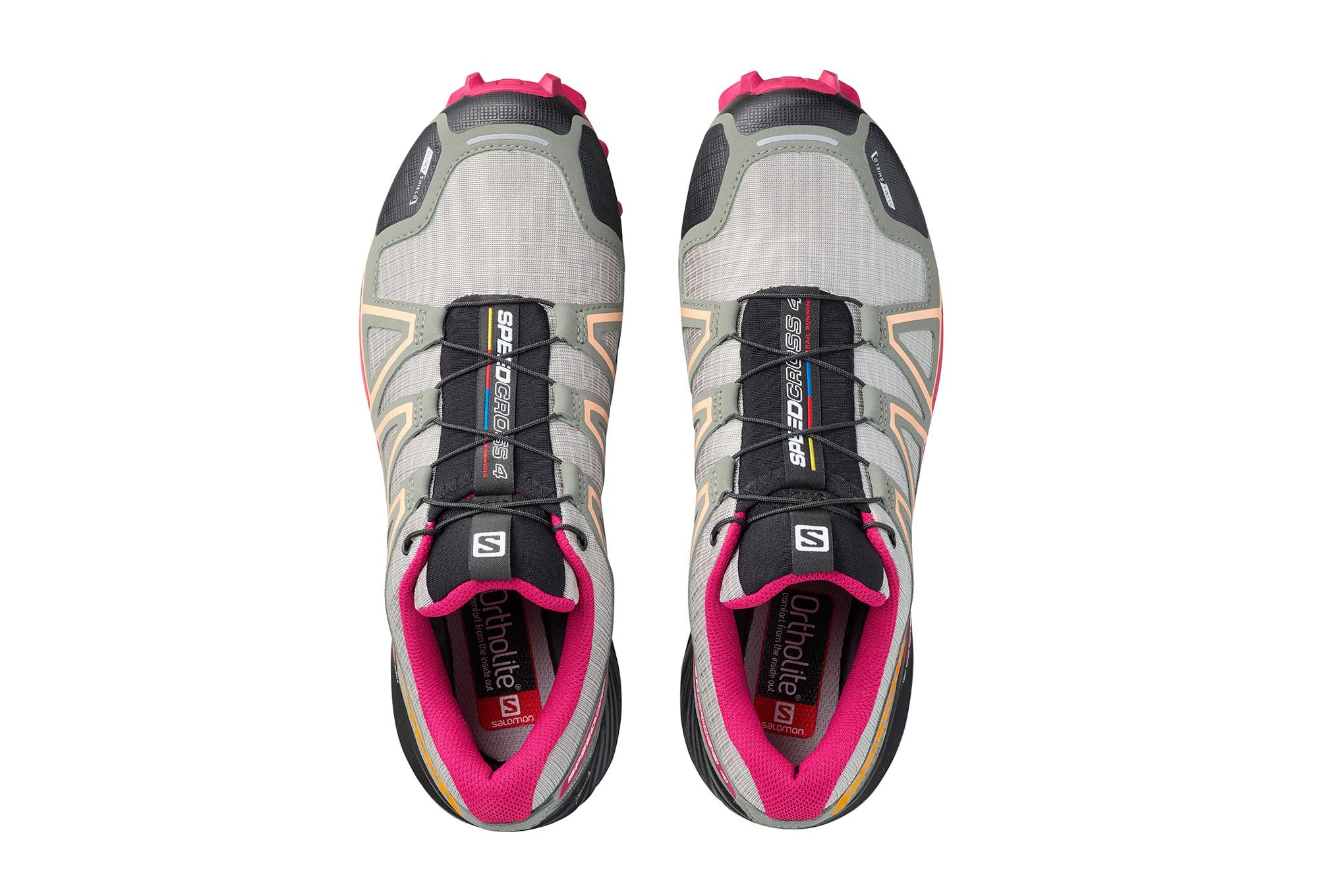 4 Trail Salomon Femme Cs Chaussures Speedcross Gris De Rose tXfgw