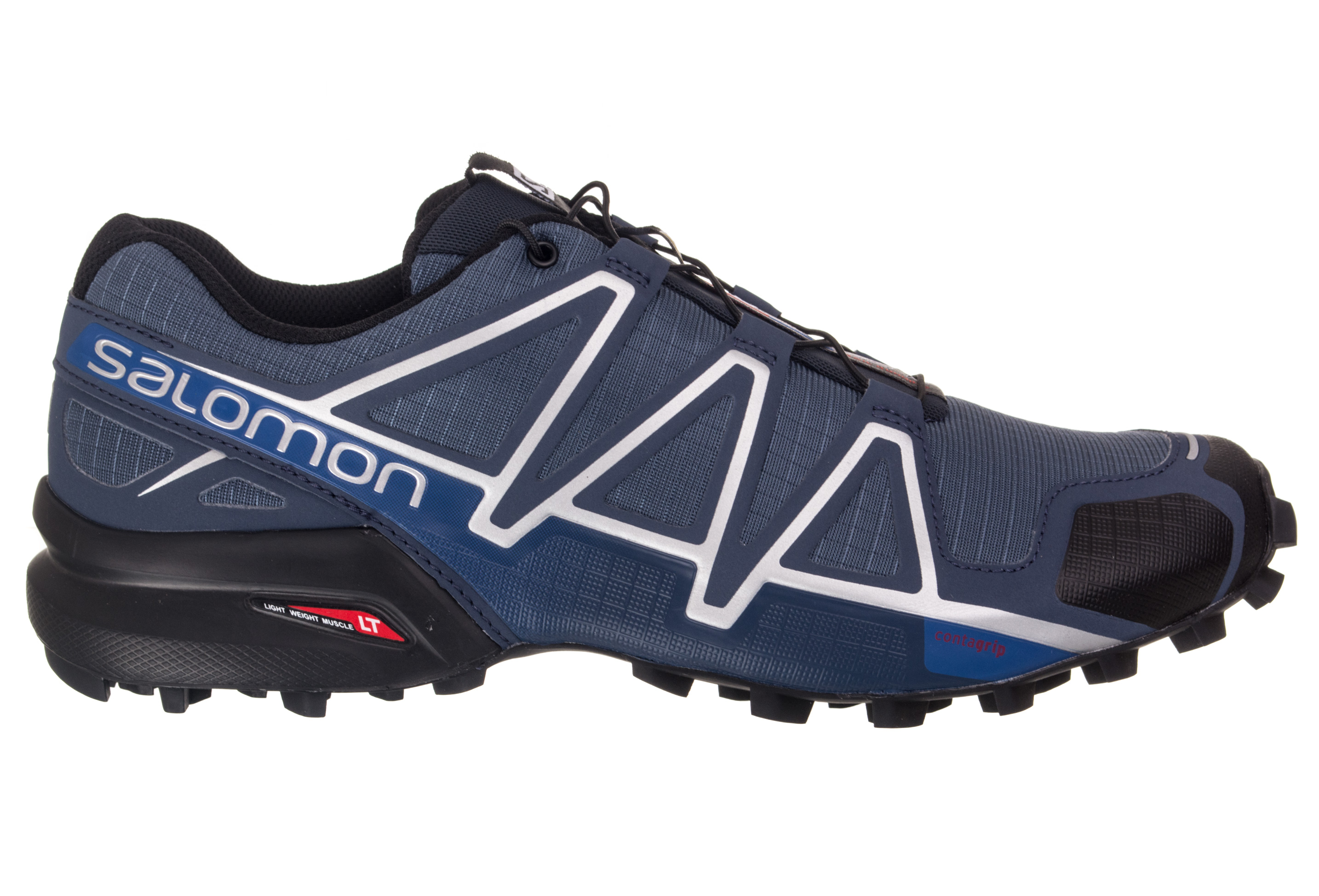 chaussures de trail salomon speedcross 4 bleu. Black Bedroom Furniture Sets. Home Design Ideas
