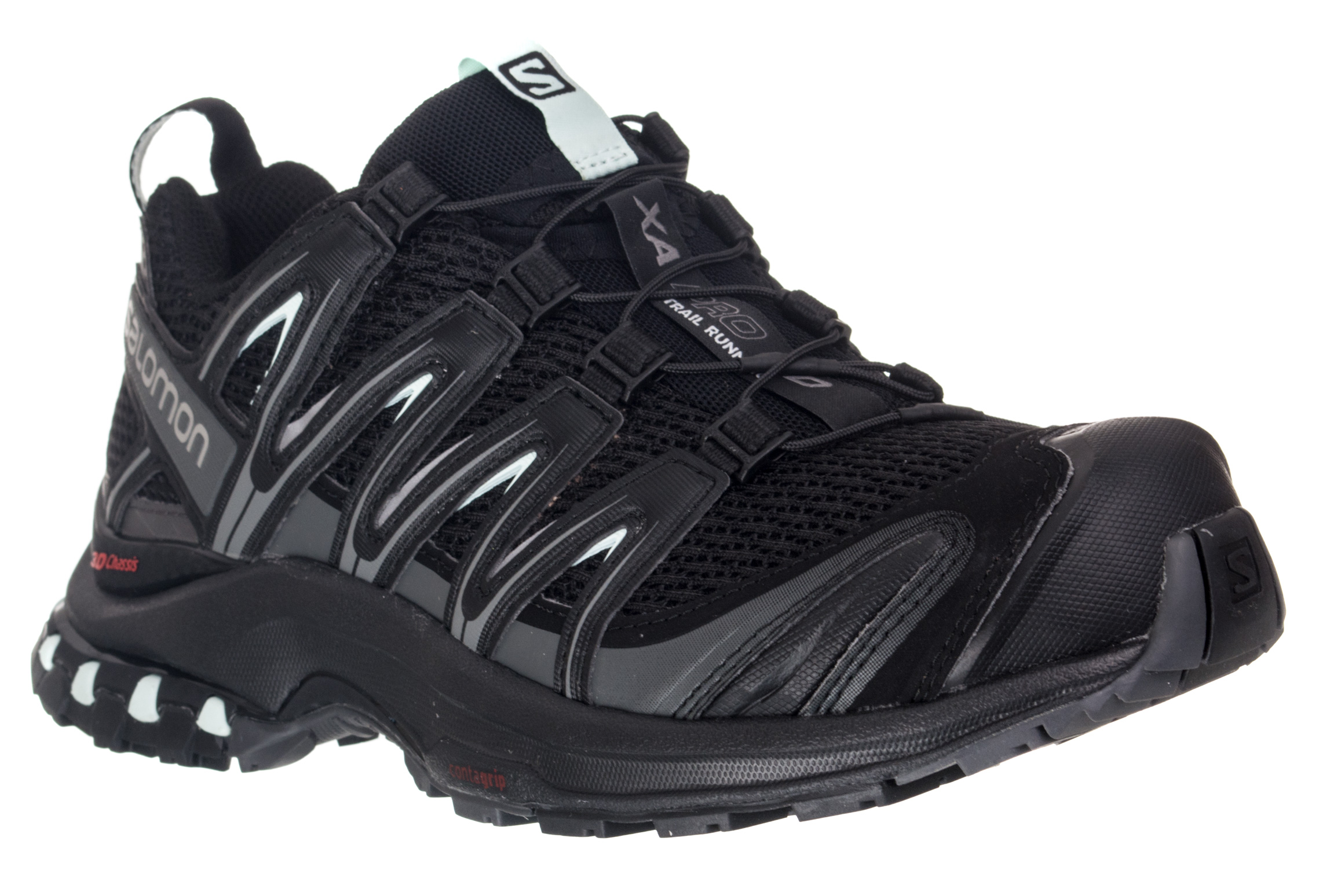 Black Salomon 3d Pro Shoes Blue Women Xa DI29EH