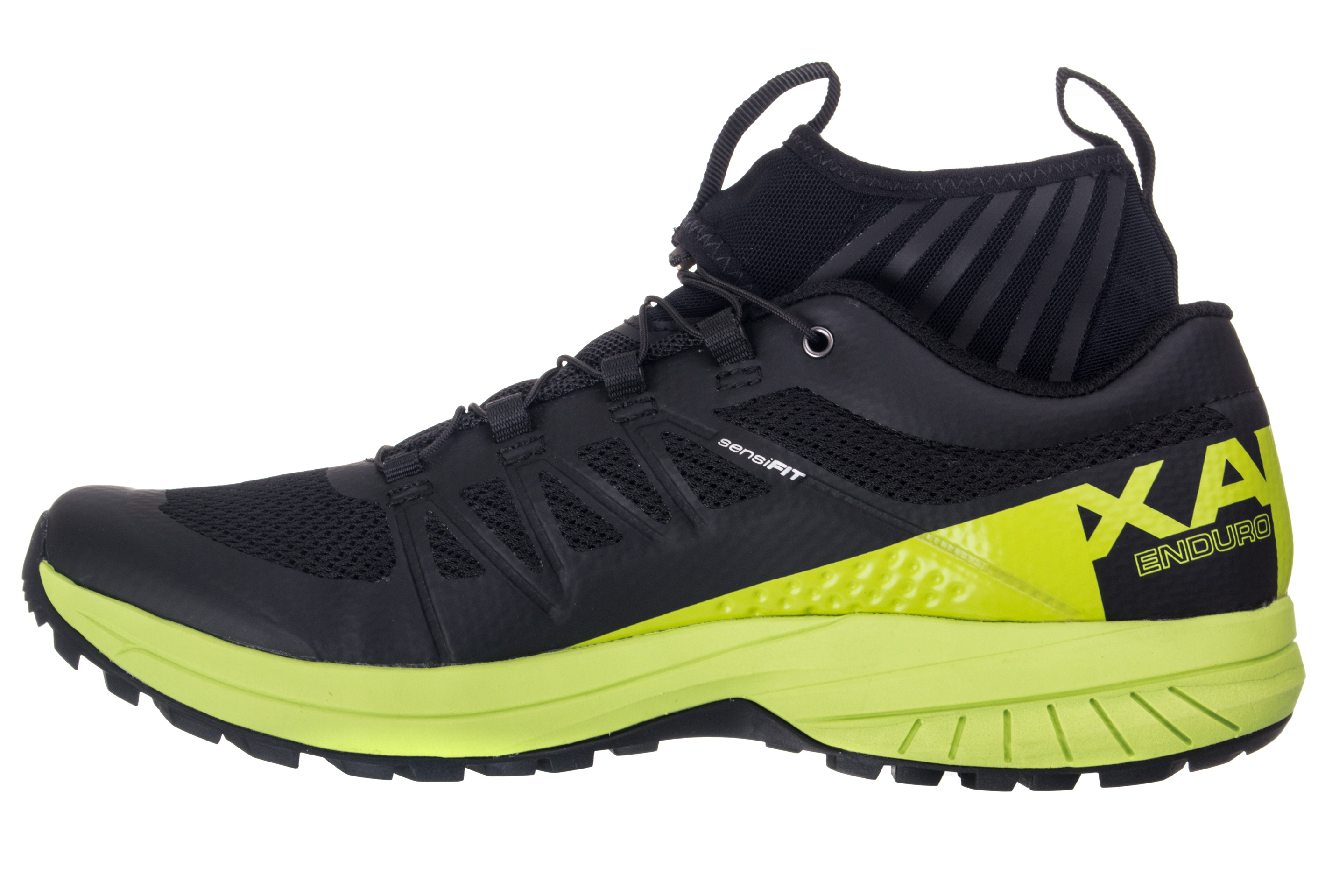 salomon xa enduro shoes black green. Black Bedroom Furniture Sets. Home Design Ideas