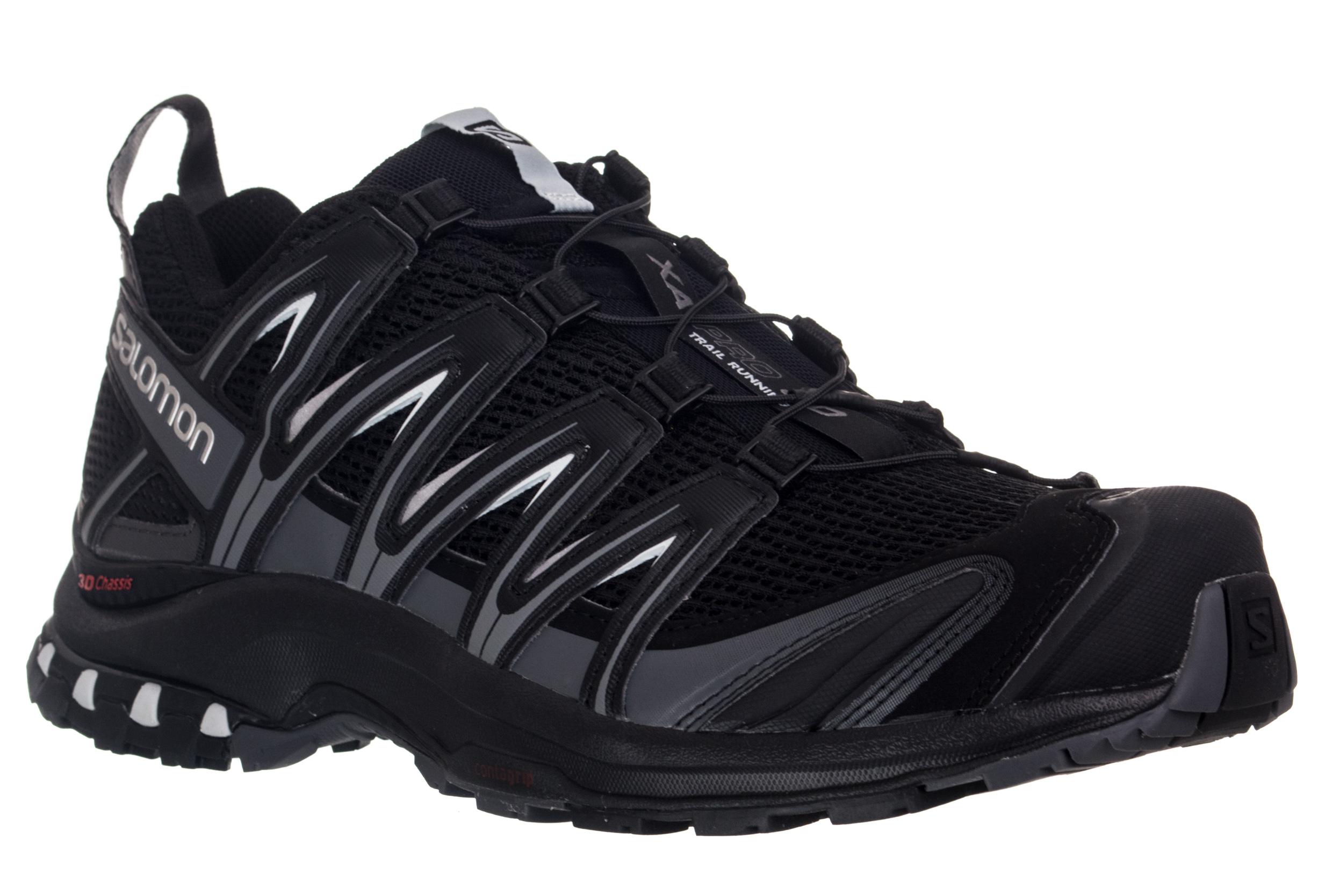 Salomon XA Pro 3D Chaussures running Homme noir (2018