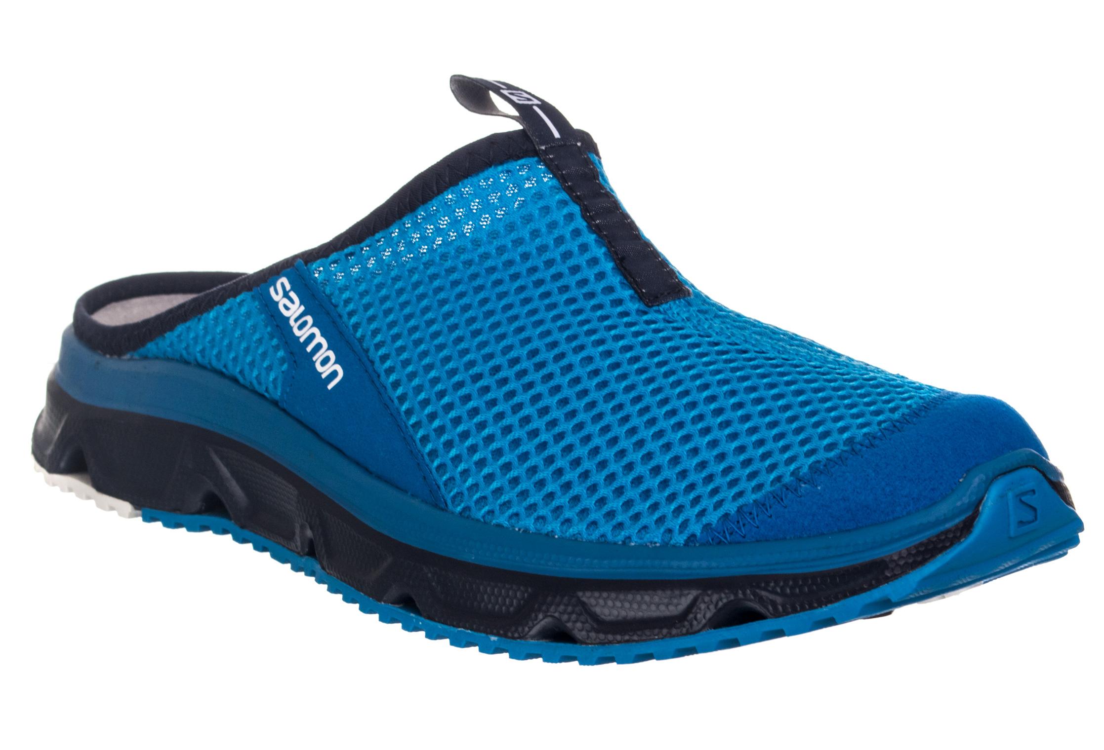 salomon rx slide 3 0 recovery shoes blue. Black Bedroom Furniture Sets. Home Design Ideas