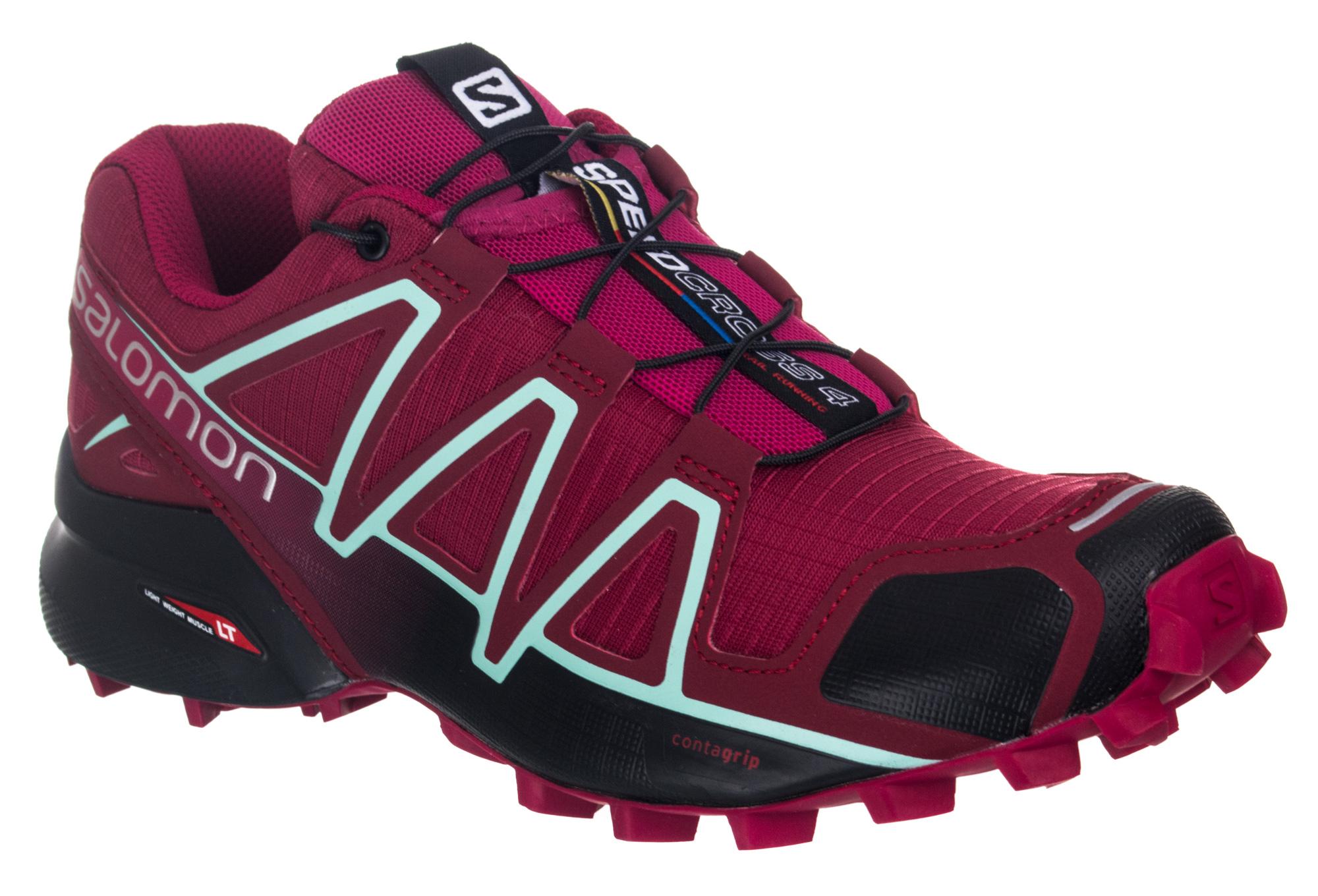 Chaussures de Trail Femme Salomon SPEEDCROSS 4 Rose