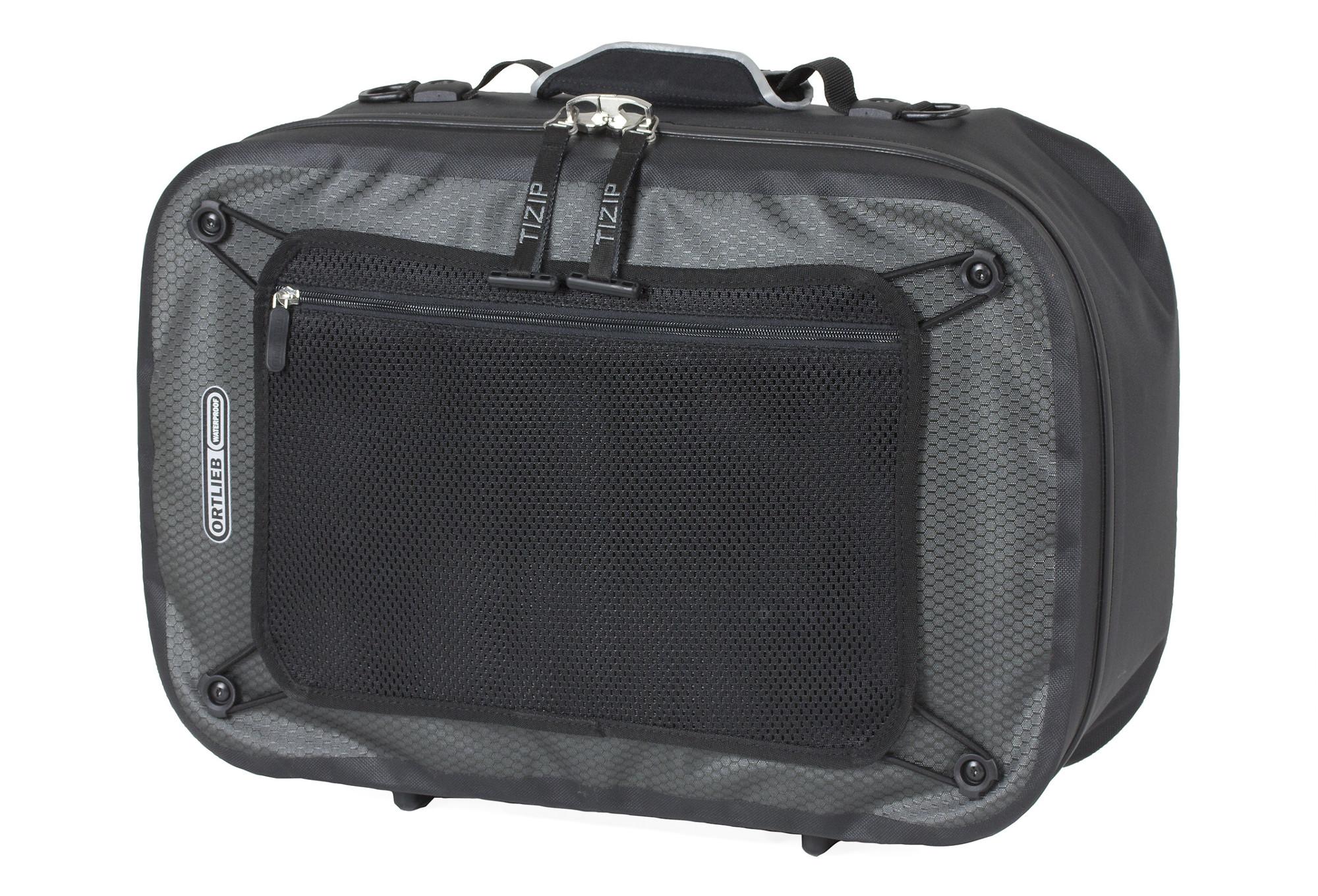 valise de porte bagages ortlieb travel biker noir gris. Black Bedroom Furniture Sets. Home Design Ideas