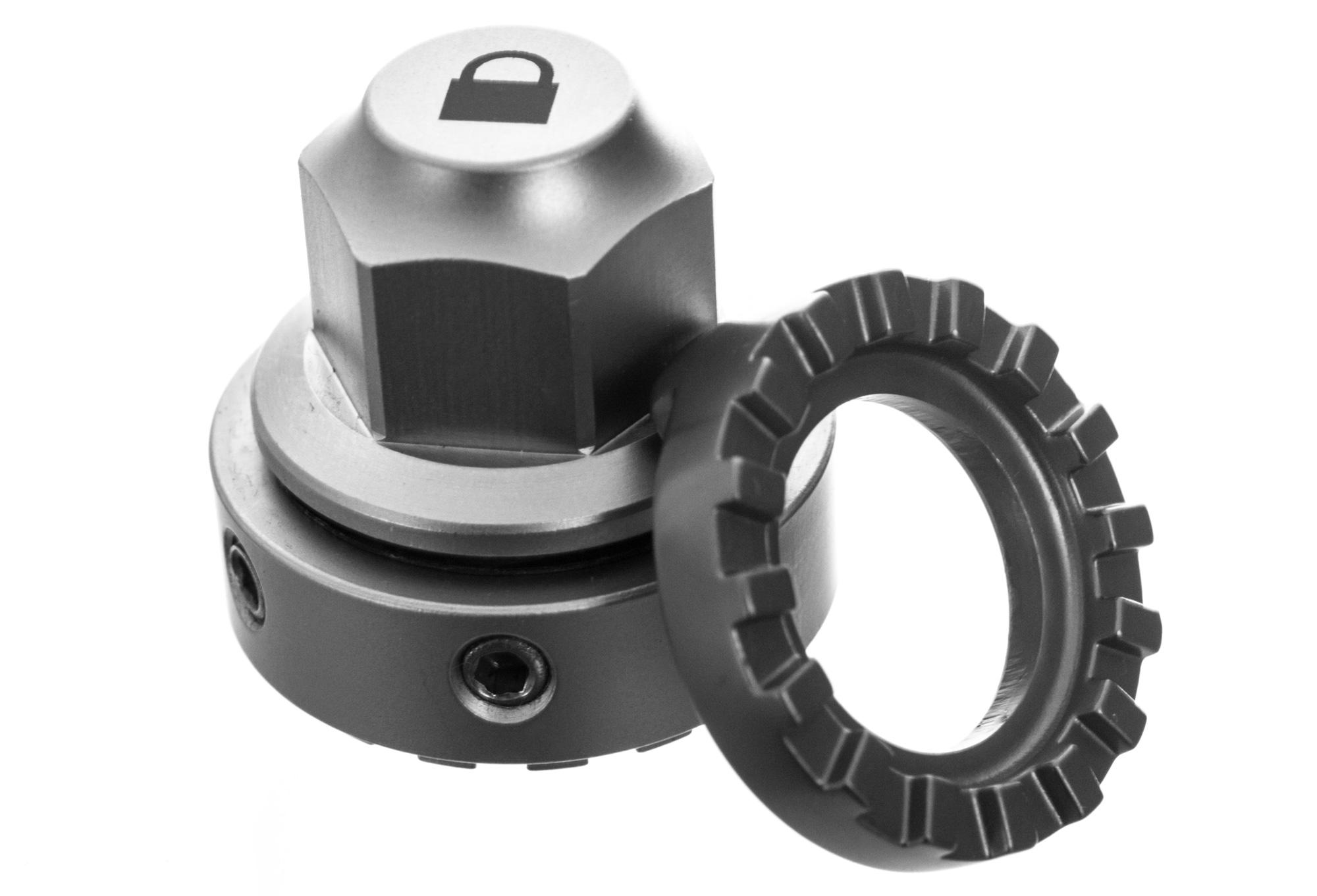 Wheel Nuts anti theft IXOW Wheelguard Gravity