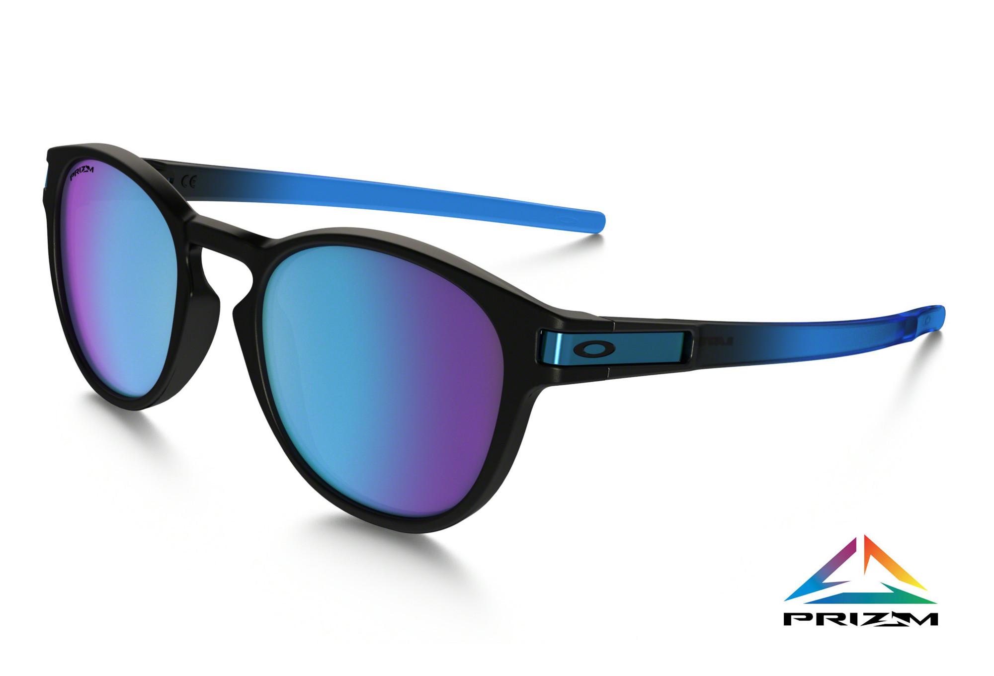 c03894af05 OAKLEY Sunglasses Latch Sapphire Fade Prizm Sapphire Polarized Ref OO9265- 1853