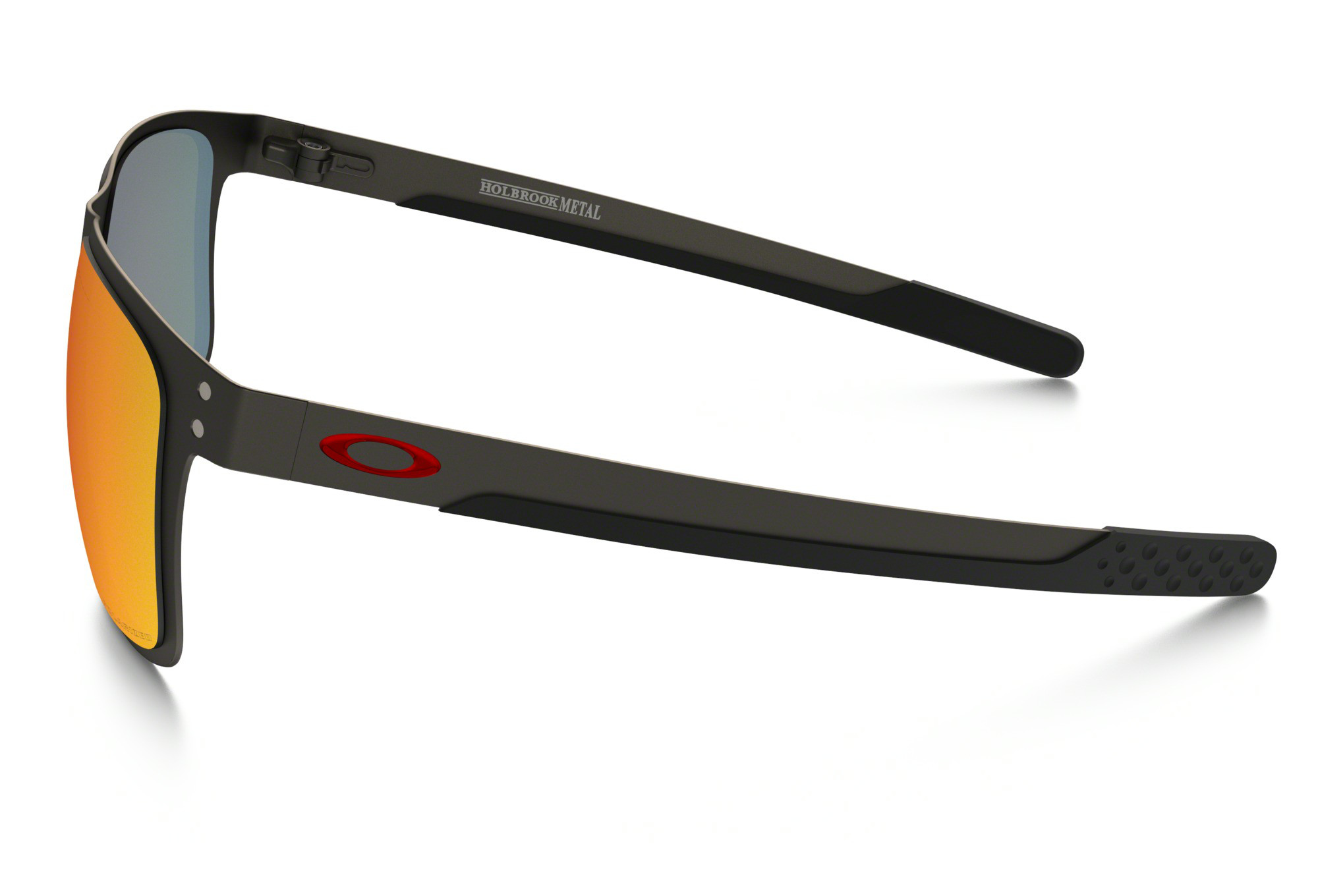 7fe76e80a0 OAKLEY Sunglasses Holbrook Metal Matte Gunmetal Torch Iridium Polarized Ref  OO4123-0555