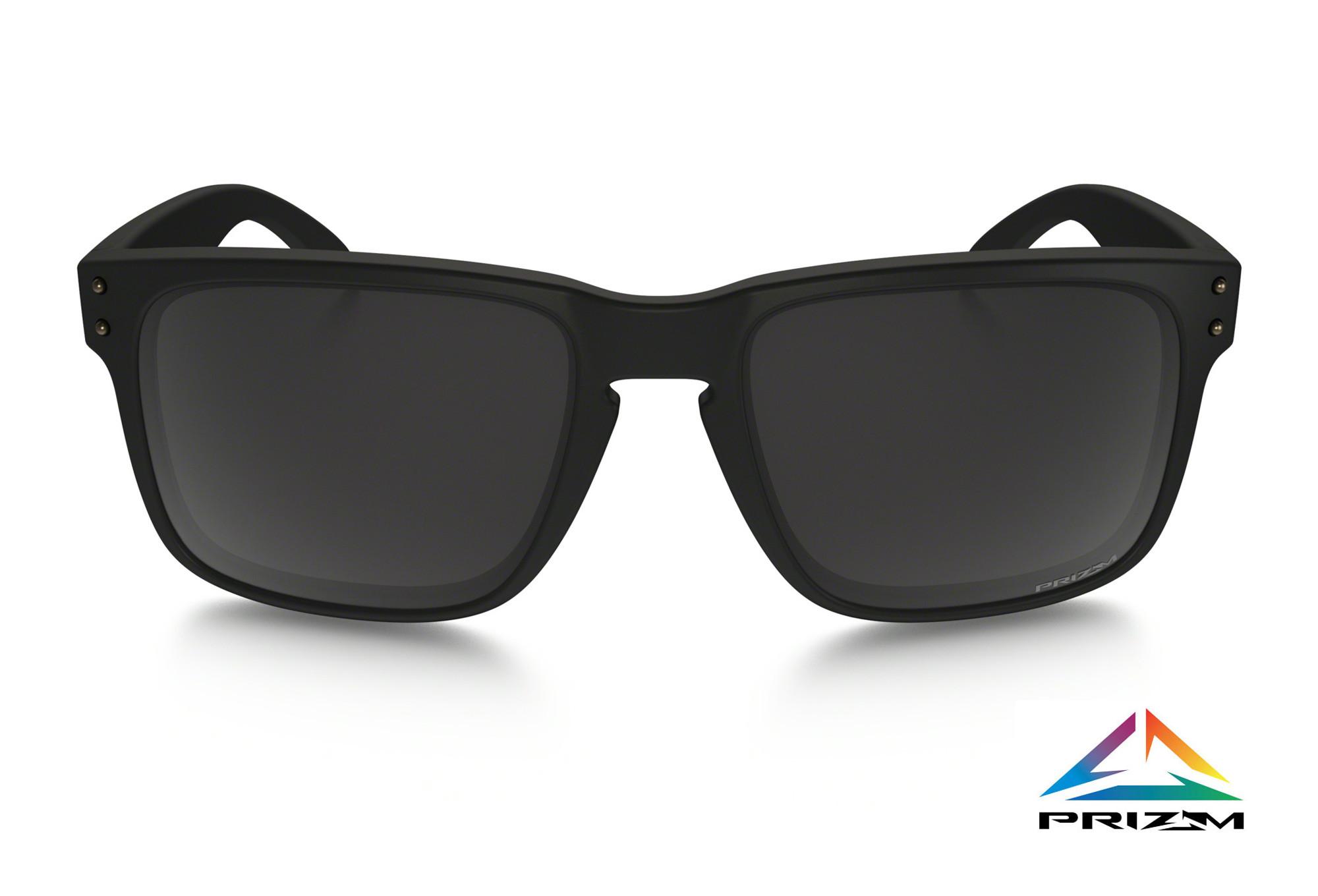 81c56dafd76 OAKLEY Sunglasses Holbrook Matte Black Prizm Black Polarized Ref OO9102-D655