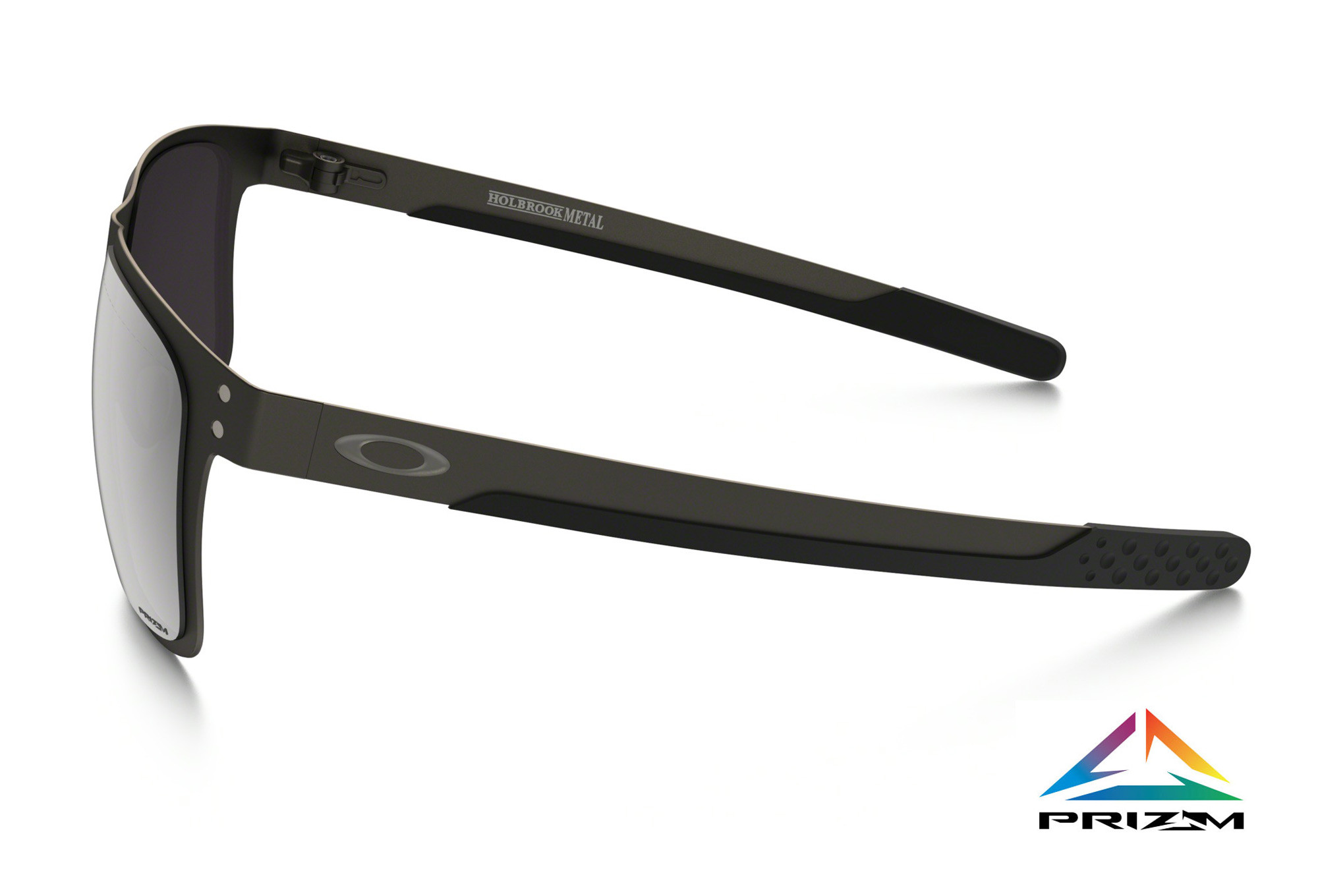 70b66267ce OAKLEY Sunglasses Holbrook Metal Matte Gunmetal Prizm Black Polarized Ref  OO4123-0655