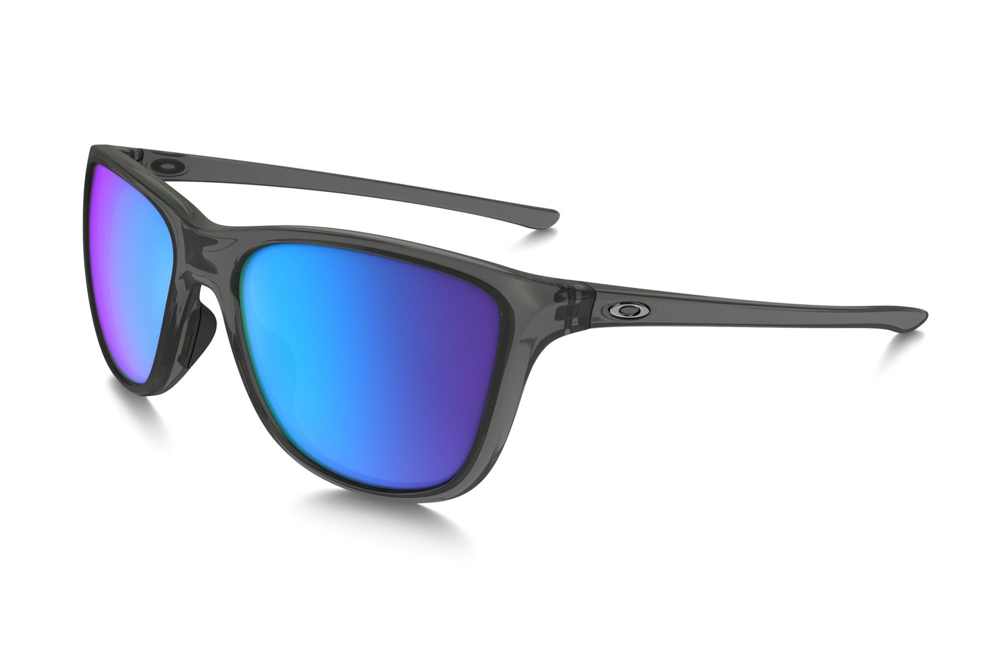 ae95c02294 OAKLEY Sunglasses Reverie Grey Smoke Sapphire Iridium Polarized Ref  OO9362-0655