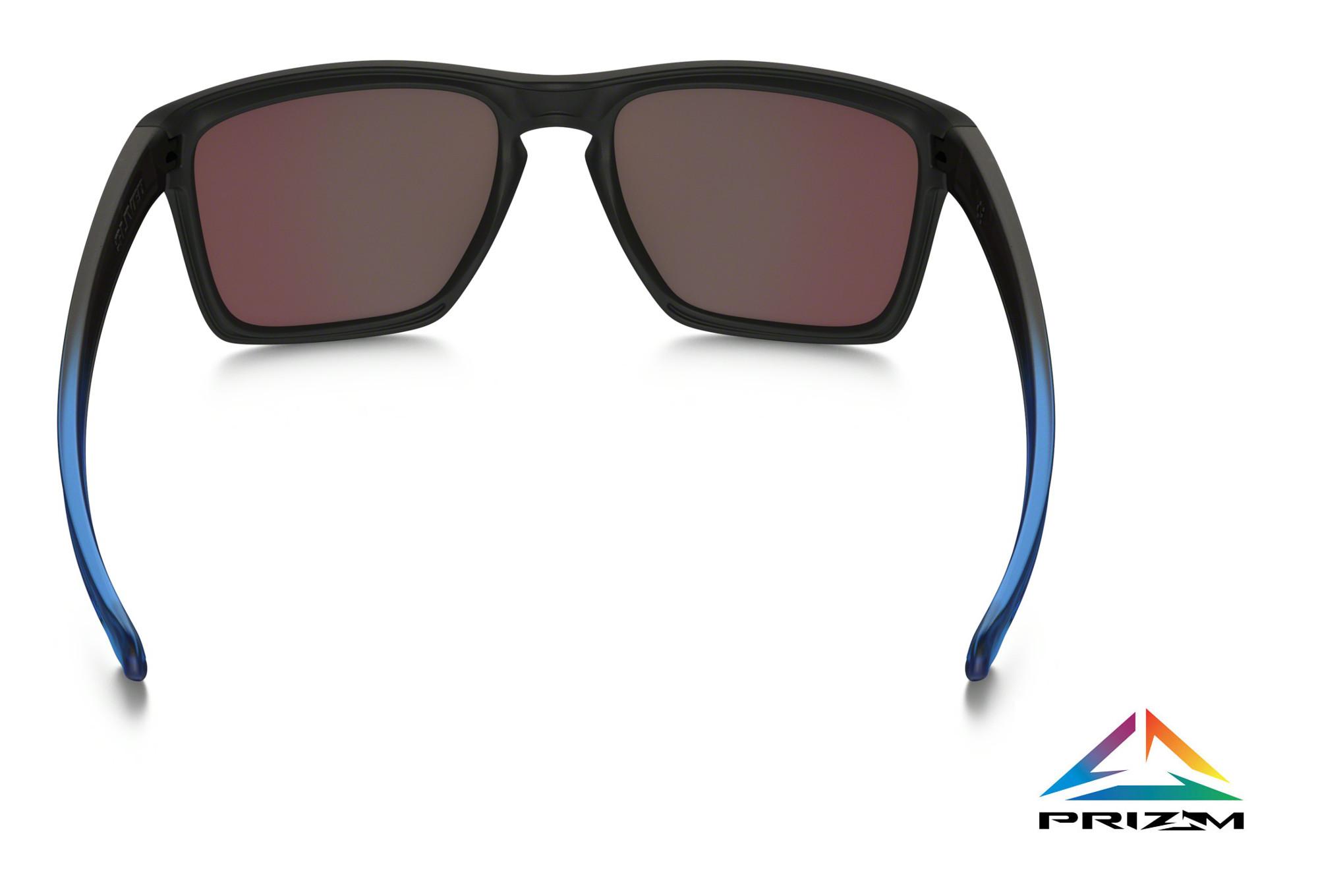59d7277378 OAKLEY Sunglasses Sliver XL Sapphire Fade Prizm Sapphire Polarized Ref  OO9341-1357