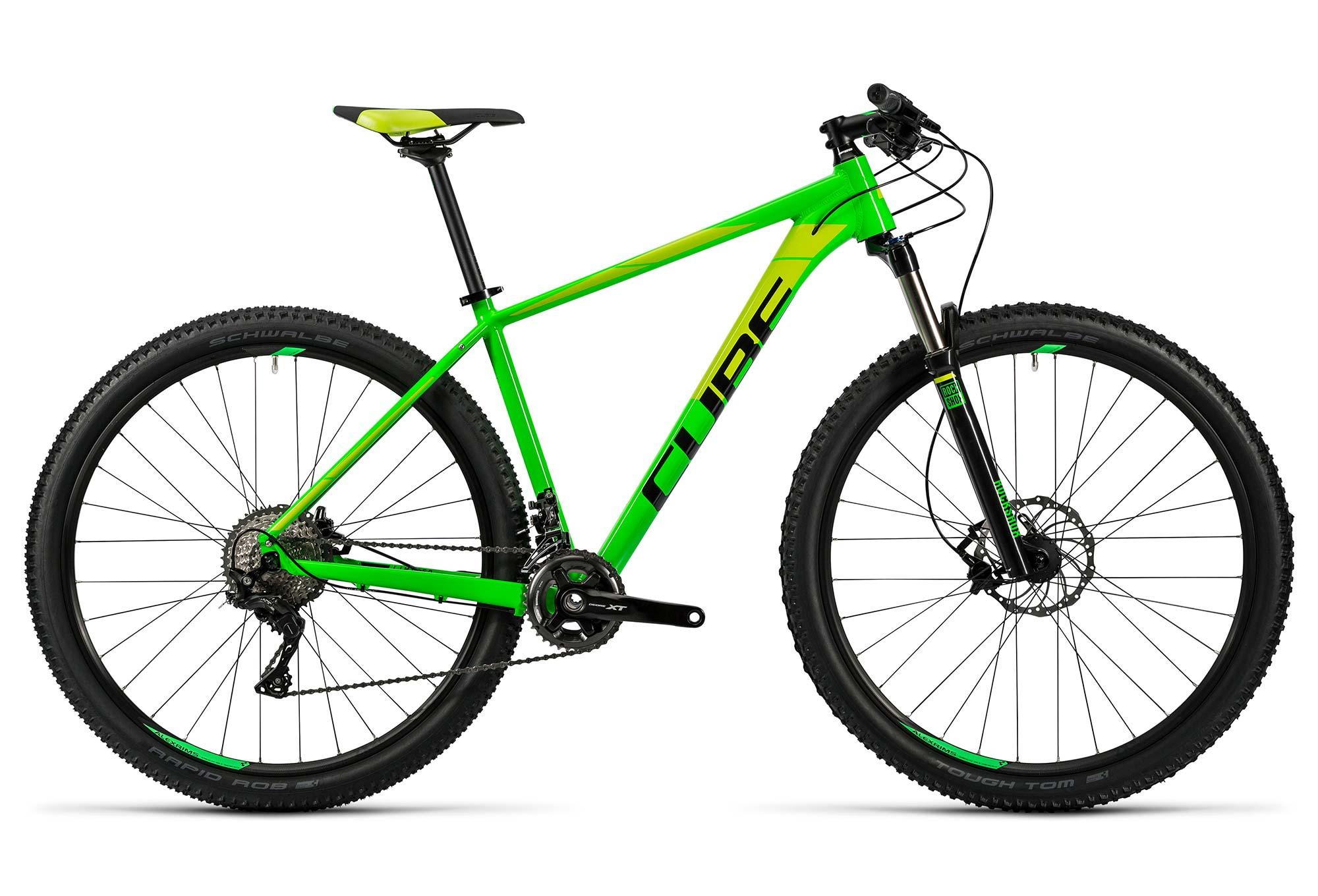 Vélo plet CUBE LTD Pro 29´´ Shimano XT 11v Vert