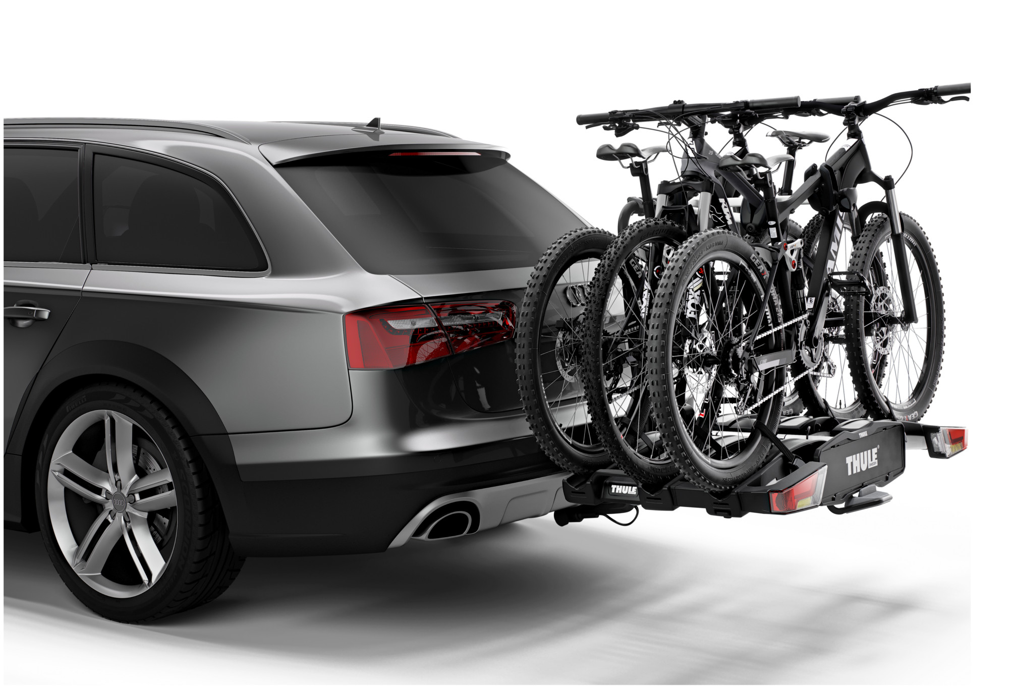 thule easyfold xt 3 bikes anh ngerkupplung tr ger 13 pin. Black Bedroom Furniture Sets. Home Design Ideas