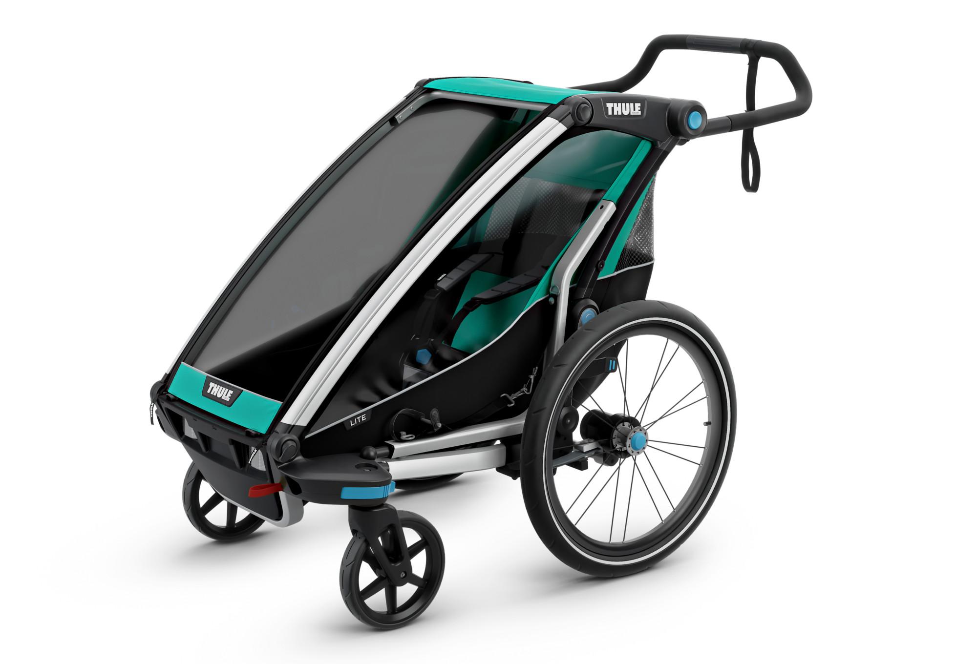 Thule Chariot Lite 1 Kid Trailer Green Alltricks De