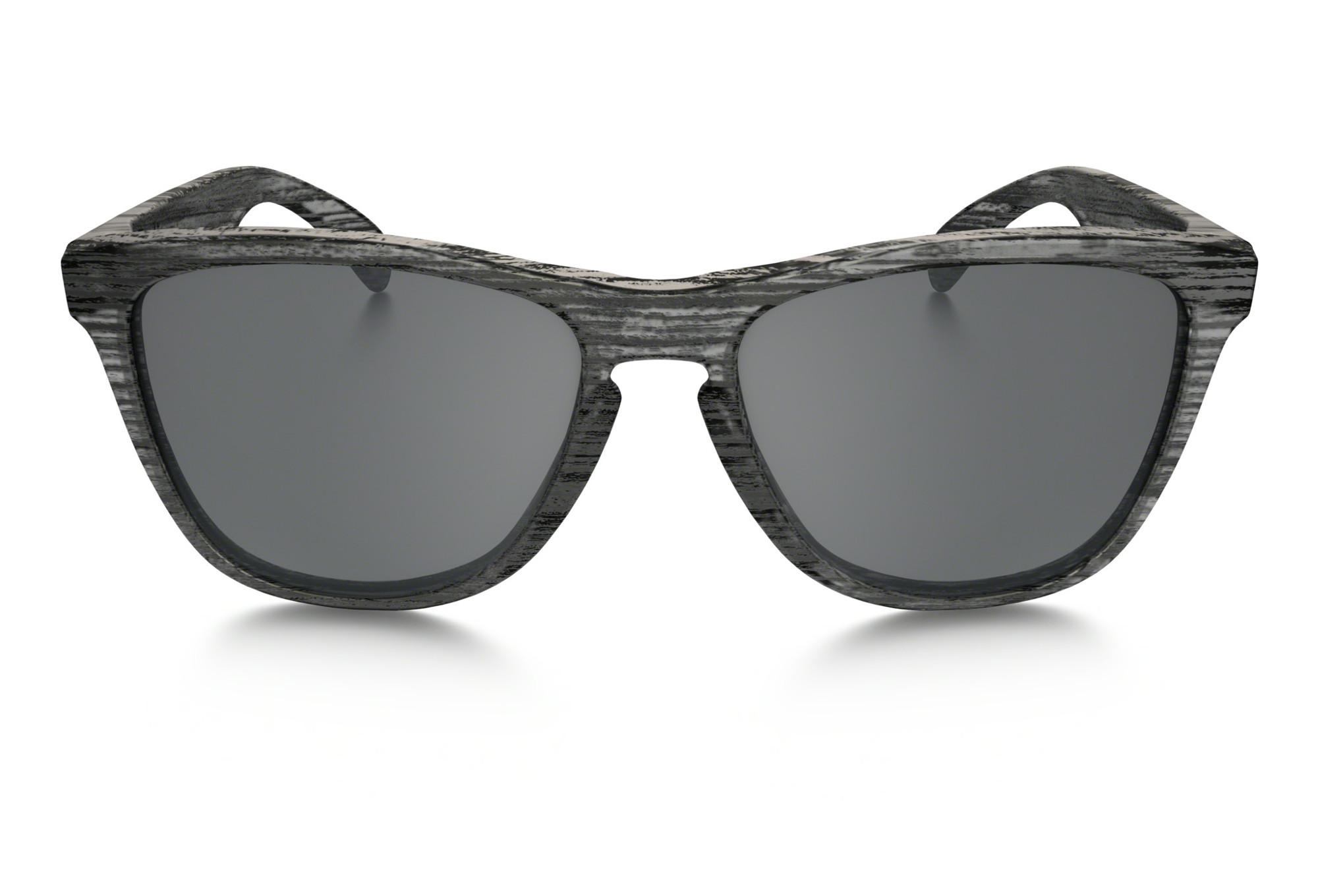 3bc7bcc4577 OAKLEY Lunettes Frogskins Driftwood Collection Matte Clear Woodgrain Black  Iridium Ref OO9013 .