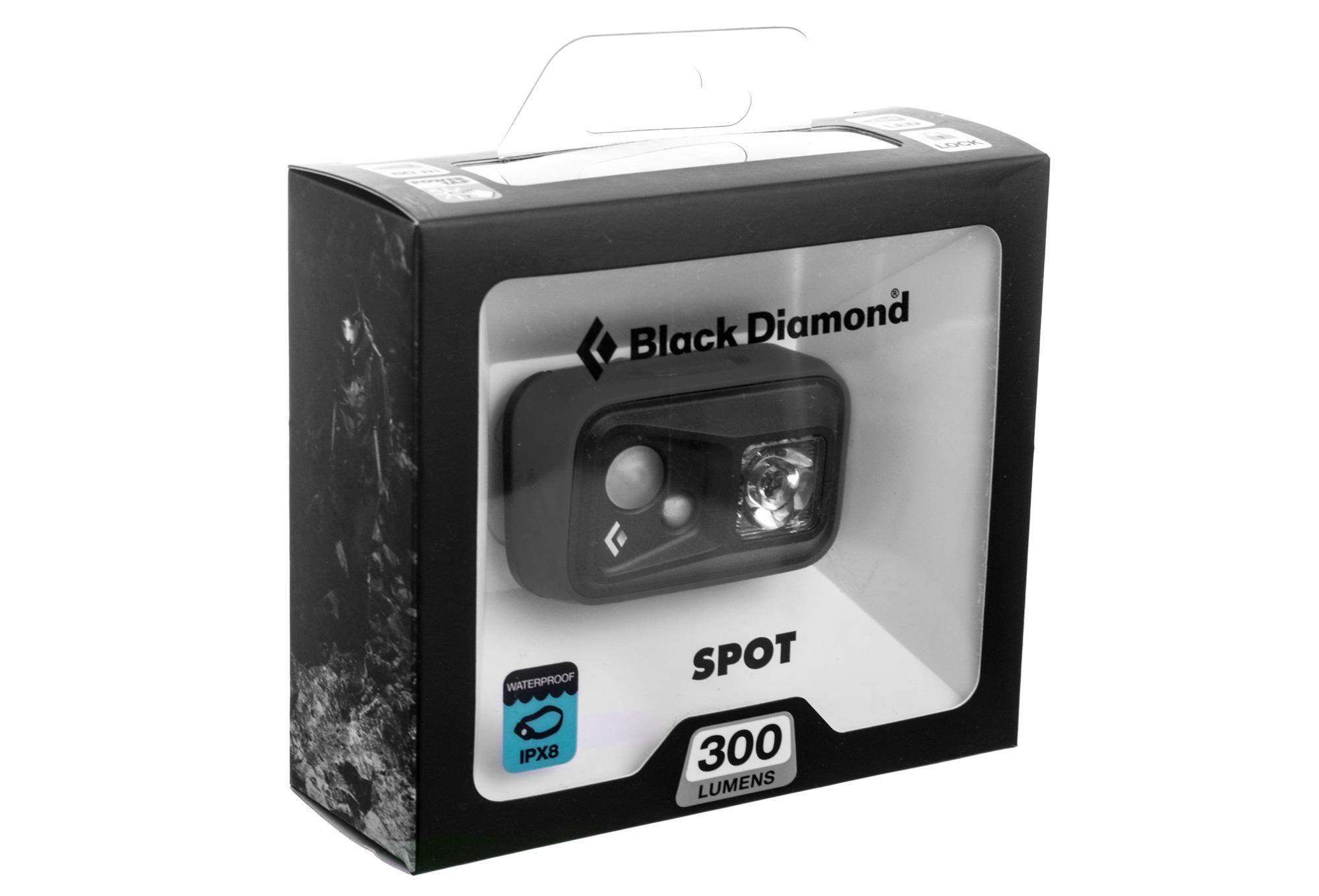 le frontale black spot 200 lumens noir alltricks fr