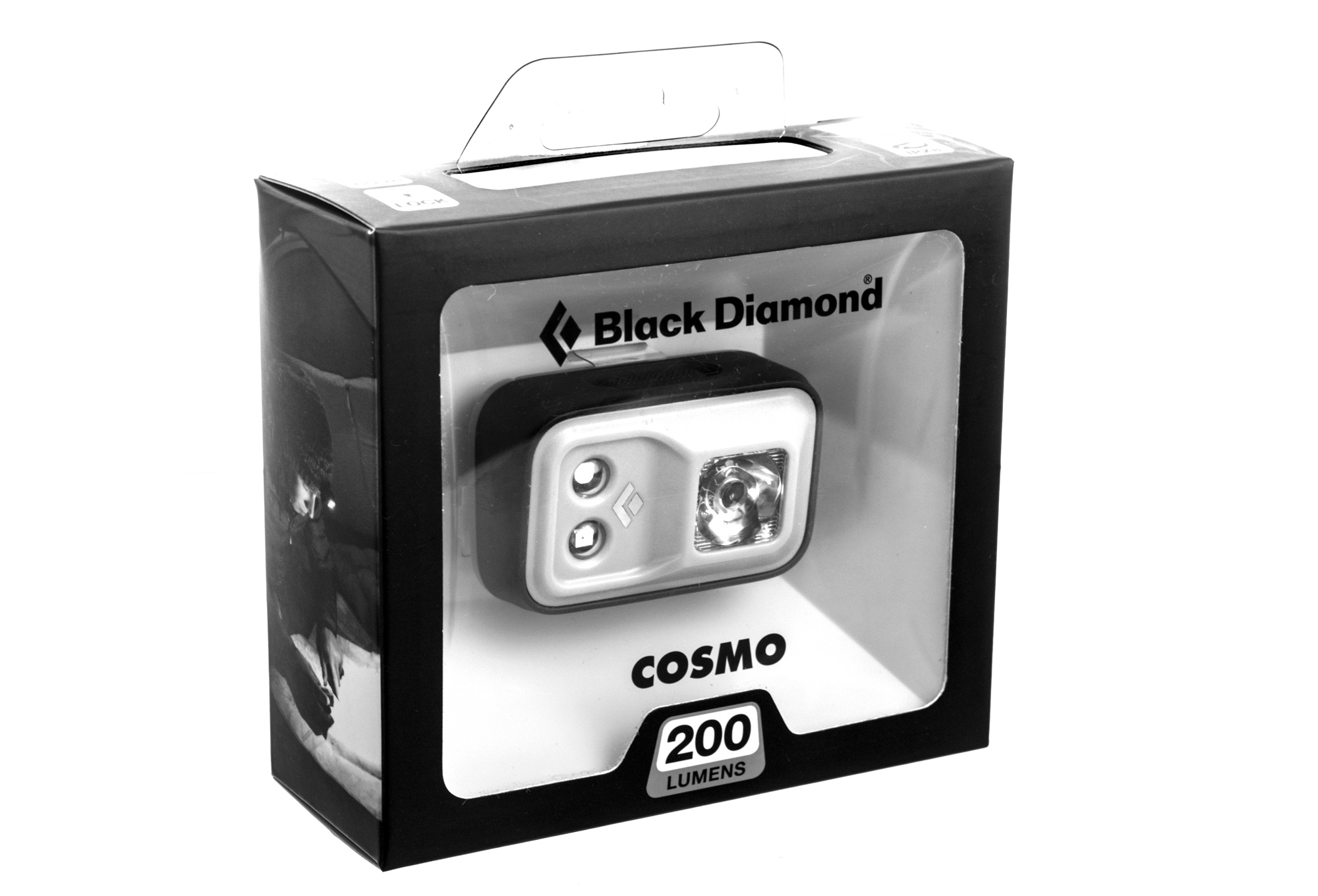 le frontale black cosmo aluminium blanc alltricks fr