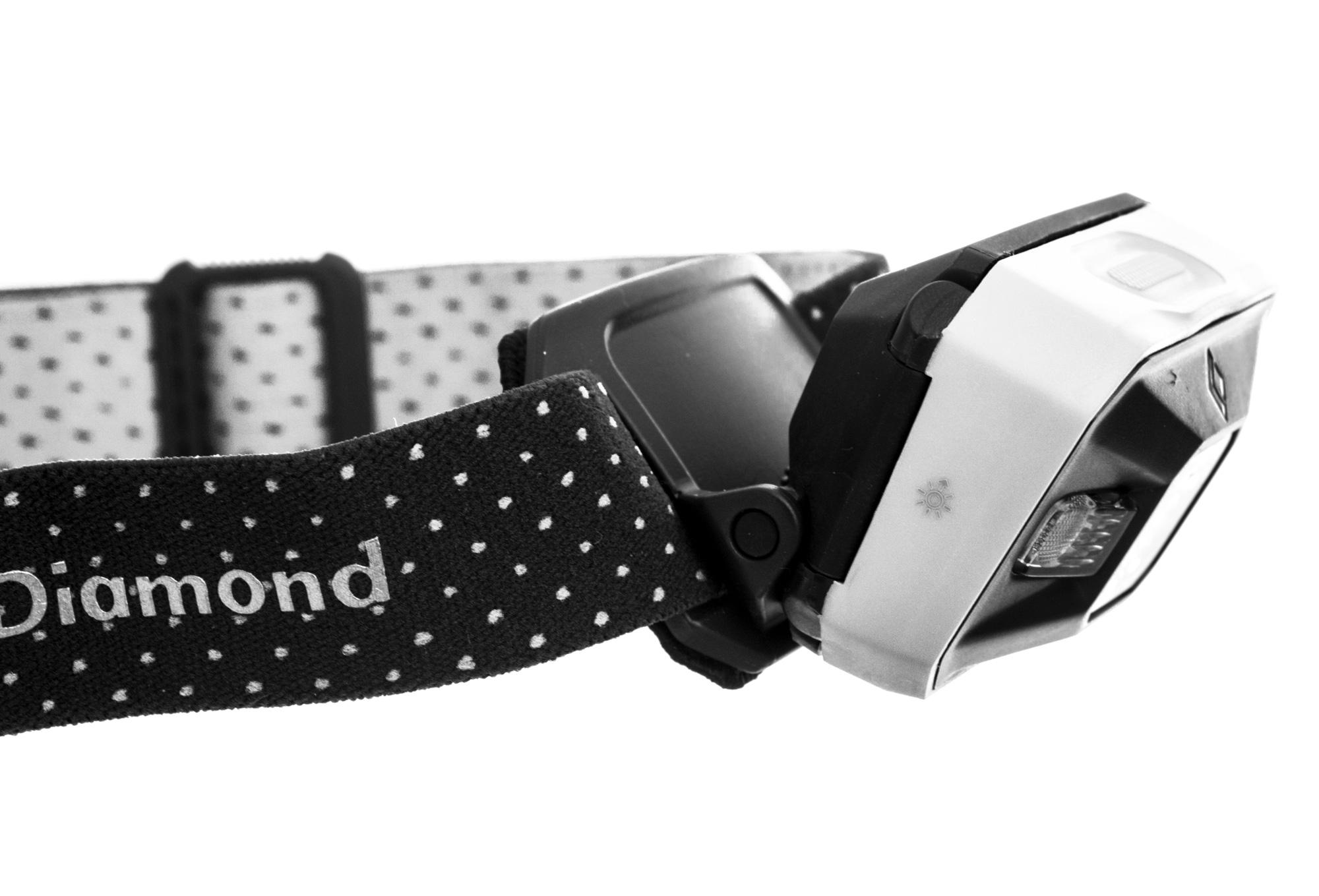 le frontale black aluminium noir blanc alltricks fr