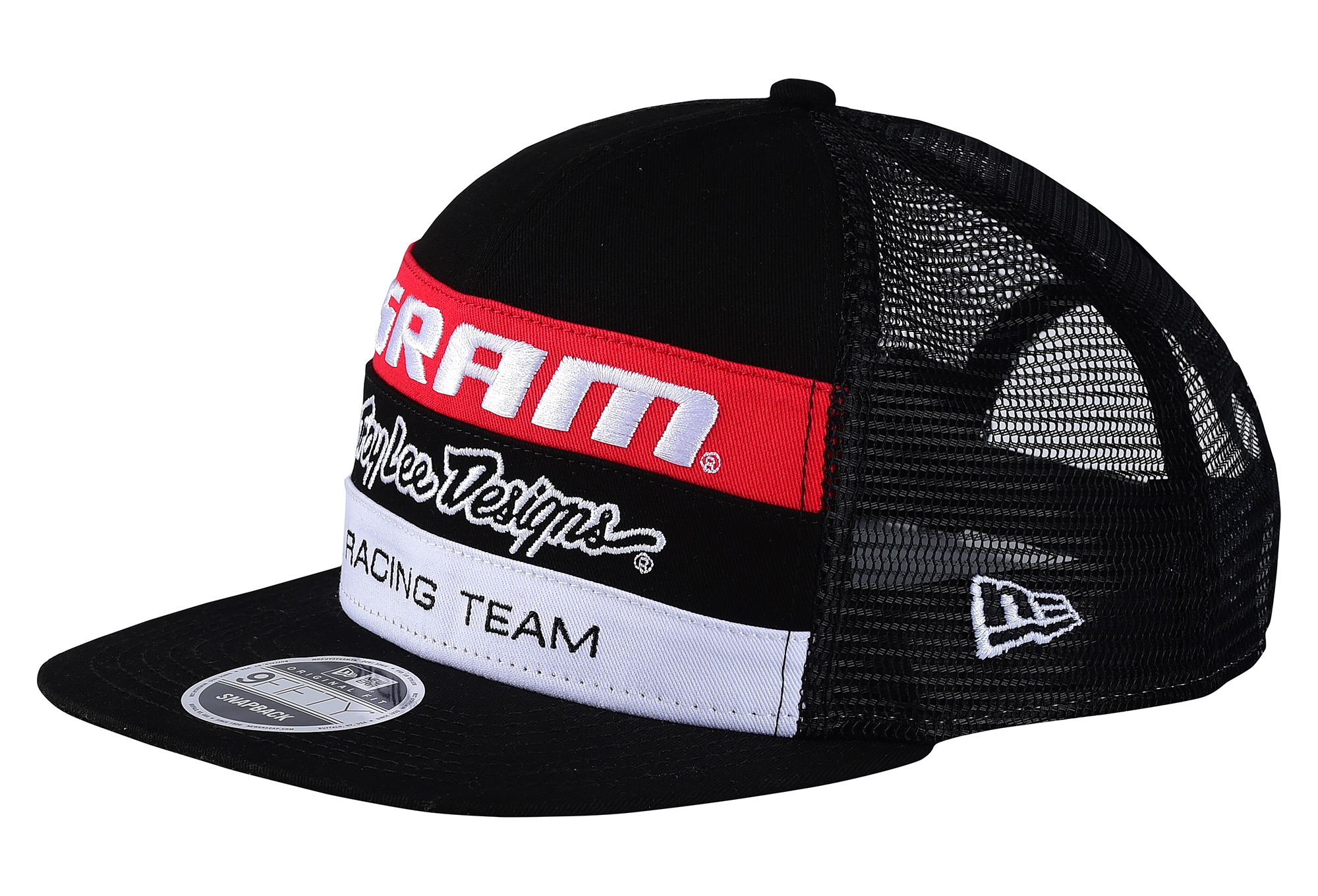 2b8f952af7dd6 Casquette Troy Lee Designs SRAM TLD Racing Black