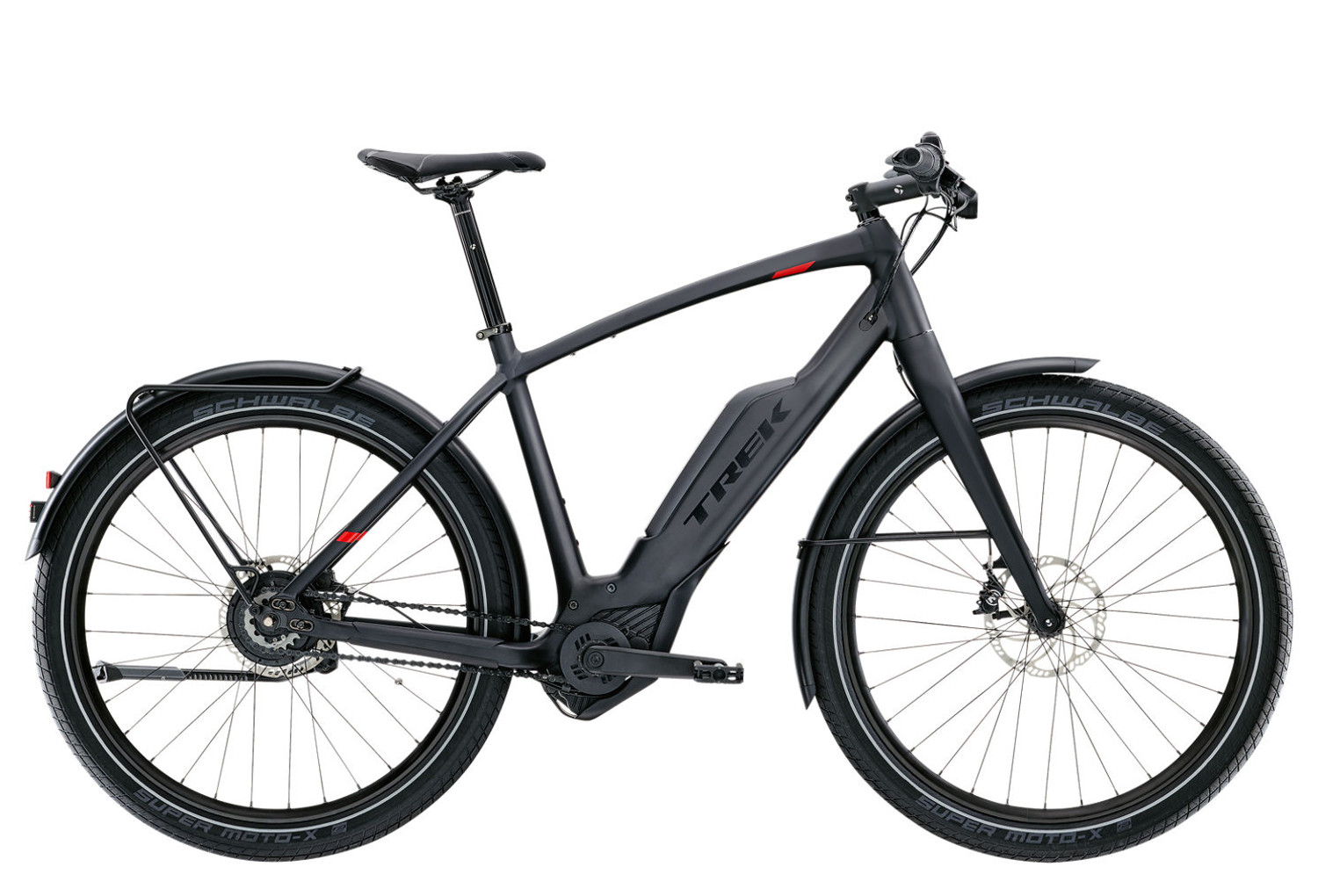 trek super commuter   9 electric touring bike black 2017