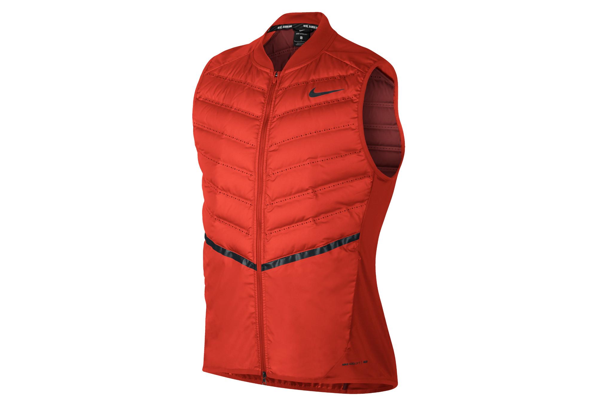 Veste Veste Rouge Nike Aeroloft Homme Homme TOrBwq7T