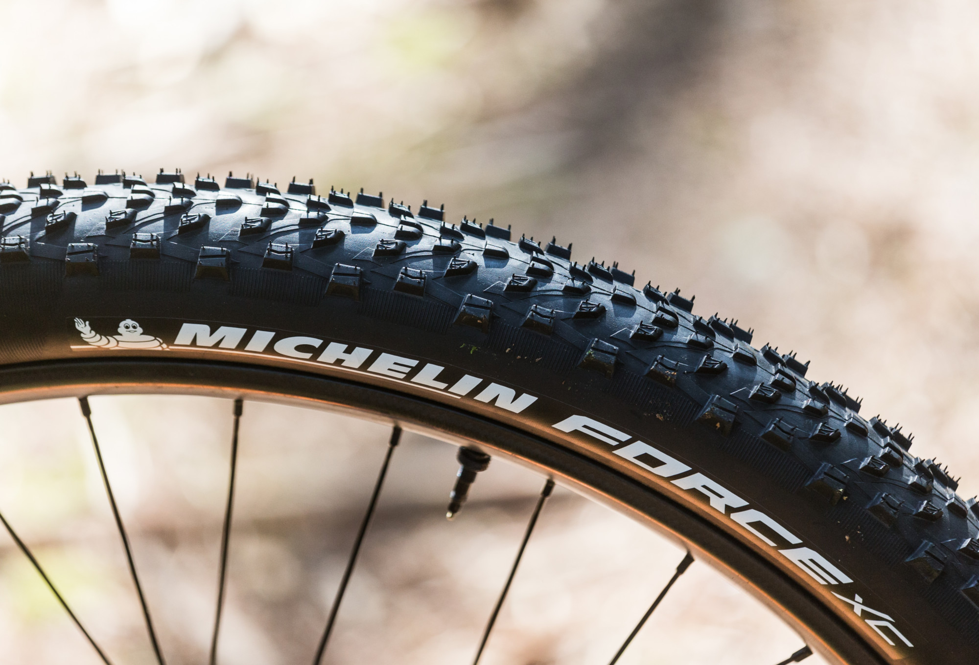Noir Michelin Force XC Competition Line Pneu VTT Mixte Adulte 26 x 2,10