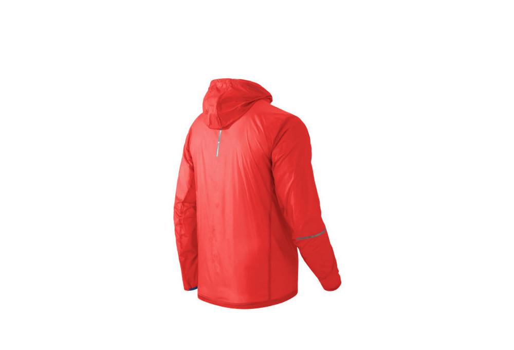 8686c3008a32 Veste Repliable Homme NEW BALANCE LITE PACKABLE Orange
