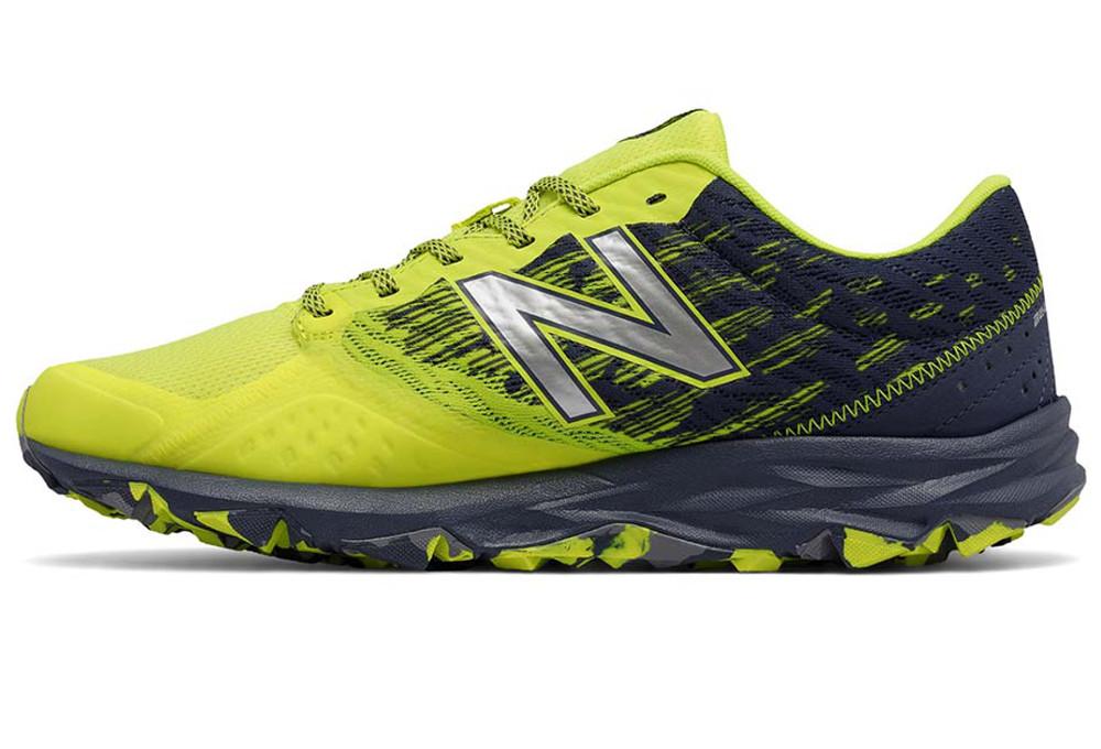 Chaussures de trail New Balance MT690 D Jaune Pointure 43