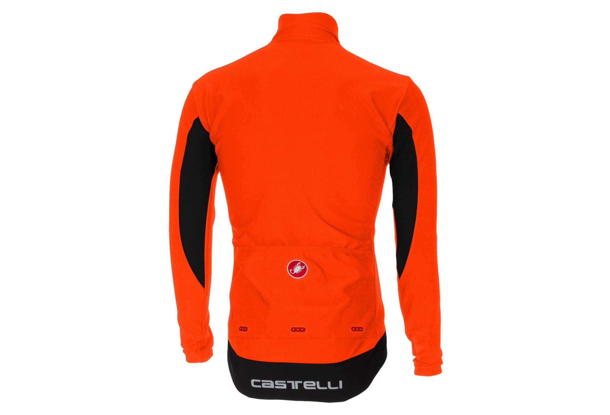 Vent Veste Castelli Coupe Orange Perfetto HqCA5wx