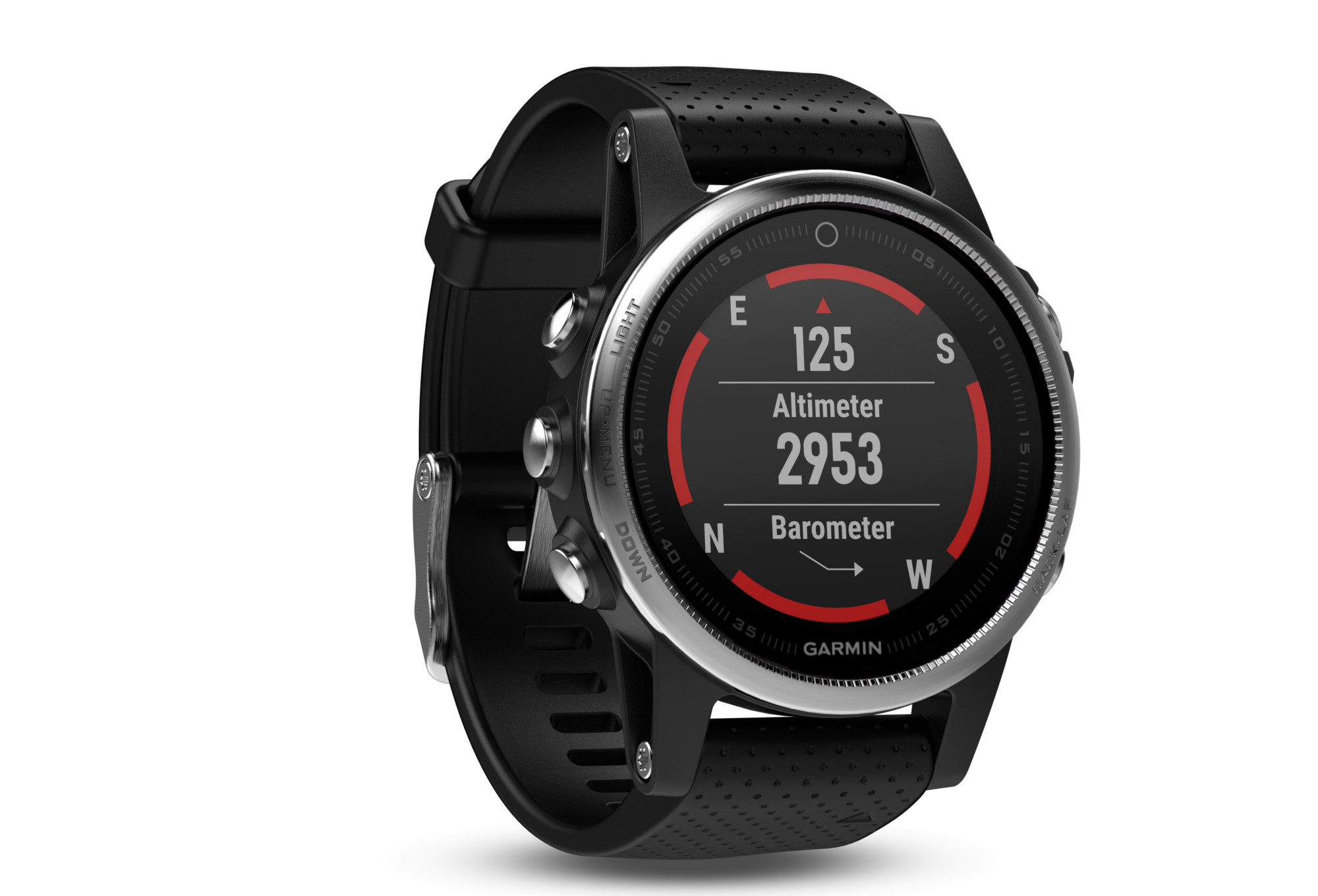 montre gps garmin fenix 5s hr argent. Black Bedroom Furniture Sets. Home Design Ideas