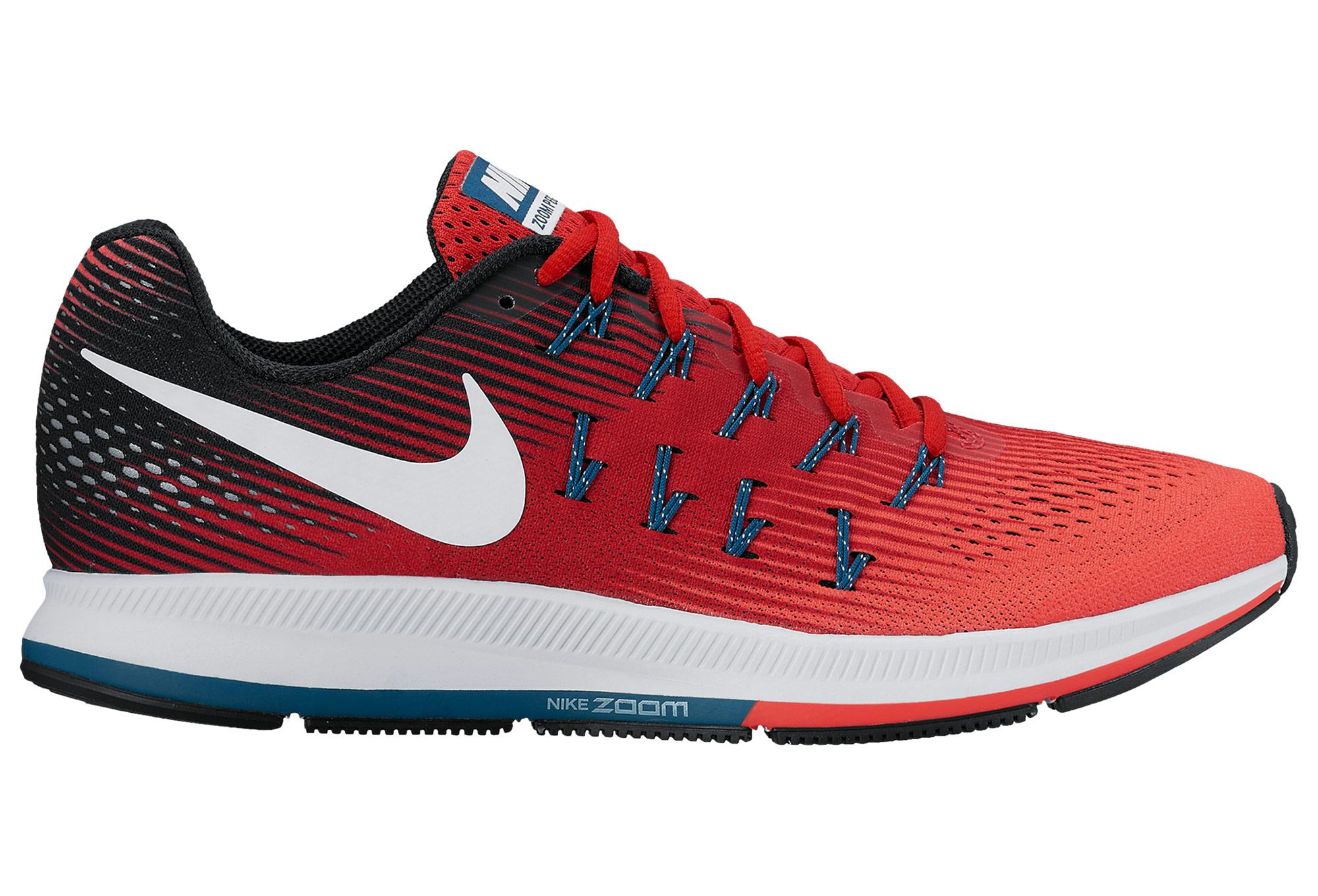 new product fe5b1 c0bdc Chaussures de Running Nike Air Zoom Pegasus 33 Rouge   Noir