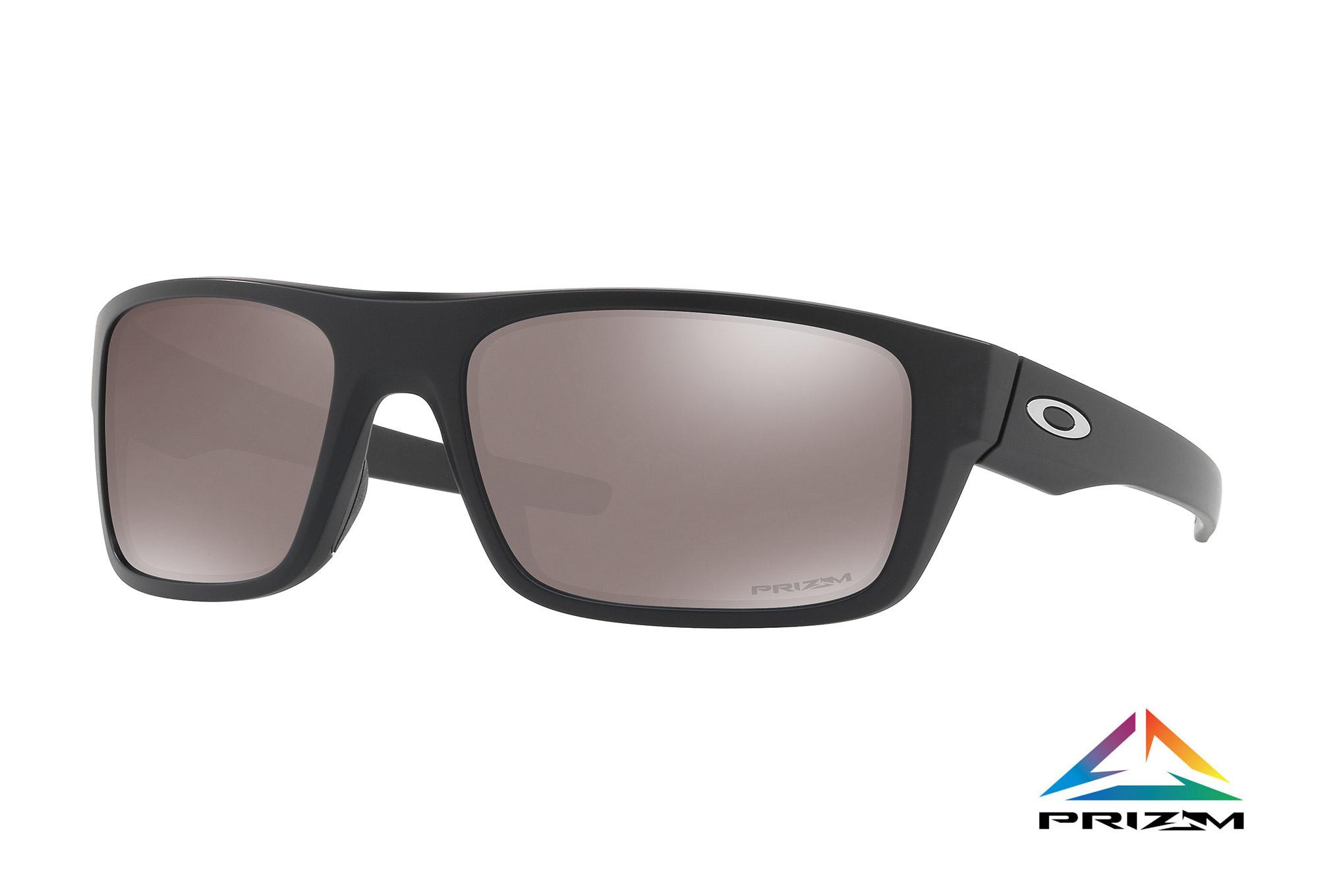 e64caa6cc533cc OAKLEY 2017 Sunglasses DROP POINT Matte Black   Prizm Black Polarized Ref   OO9367-08
