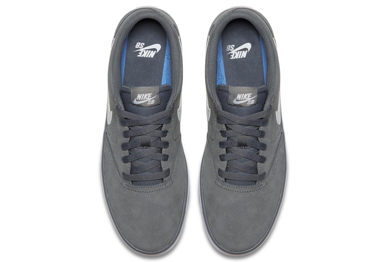 Nike SB Check Solarsoft Schuhe schwarz grau