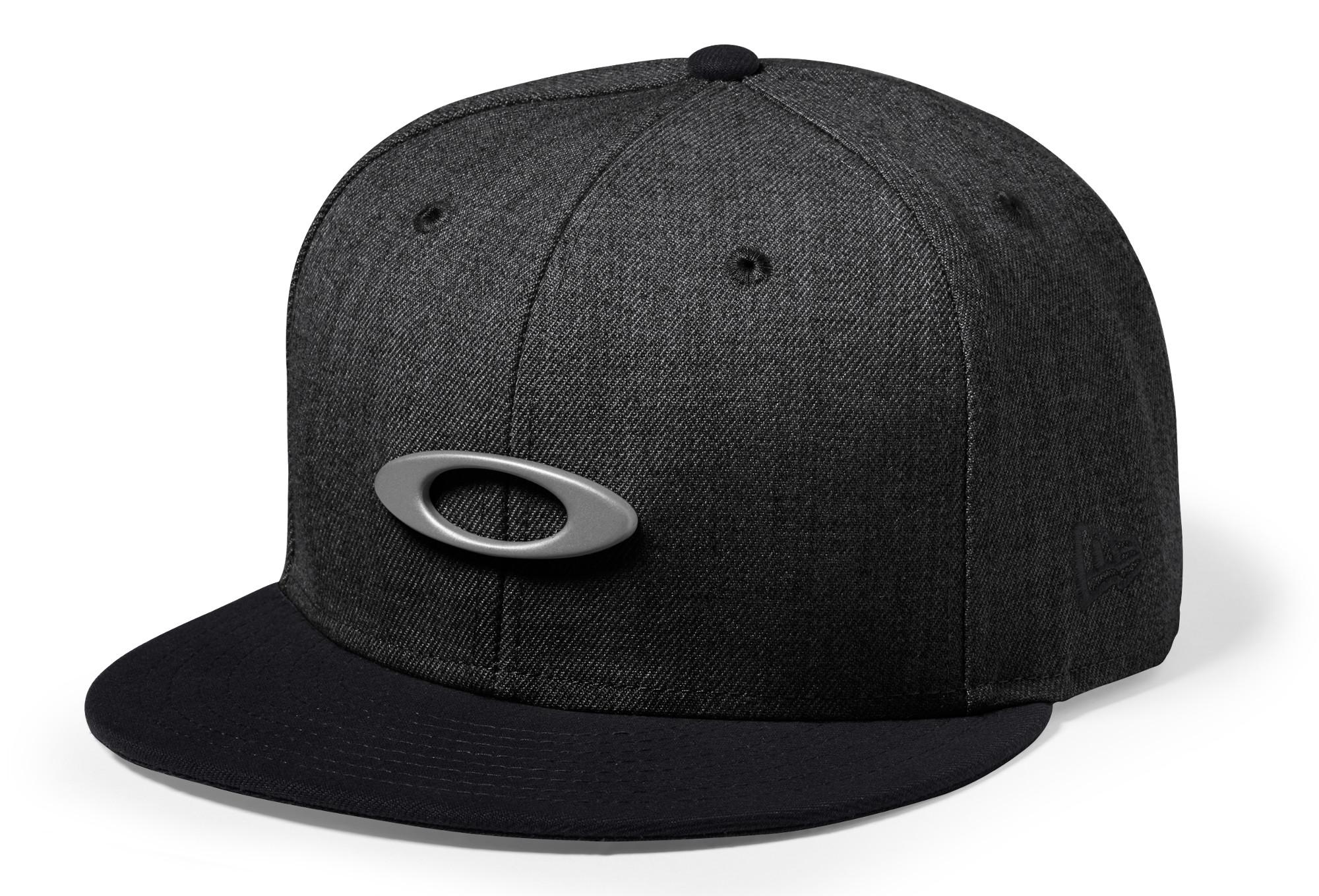 fda3a0b3 Oakley O-Justable Metal Snapback Cap Black